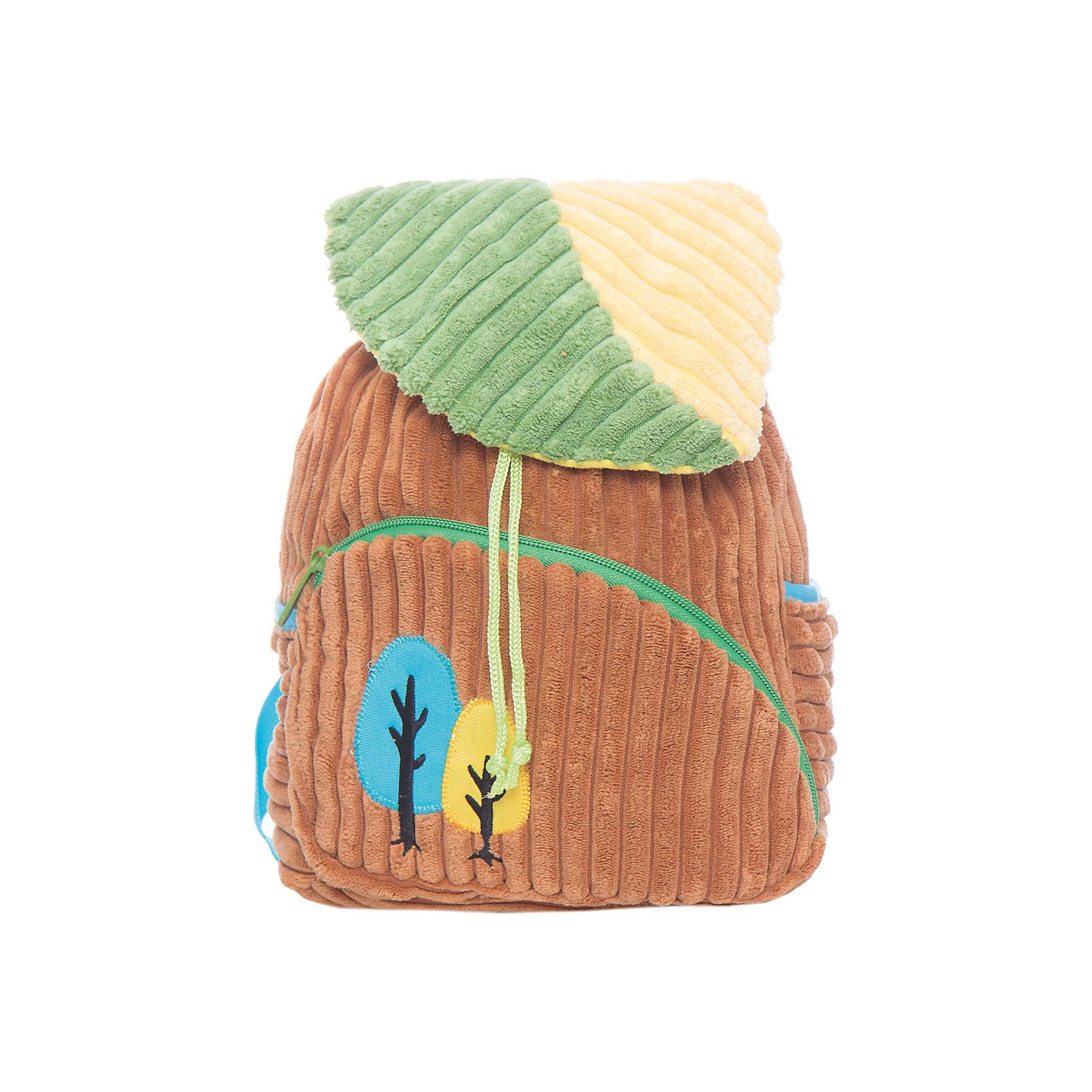 Рюкзачок Лес, бежево-зеленый,  20*28 см.Детские рюкзаки<br>Яркий и мягкий рюкзачок Лес - специально для малышей! Он легкий и имеет небольшой размер - 20х28 см. Основное отделение затягивается на ремешок и закрывается клапаном. Спереди - карман на молнии, по бокам маленькие кармашки. Лямки регулируемые.<br><br>Ширина мм: 200<br>Глубина мм: 280<br>Высота мм: 600<br>Вес г: 175<br>Возраст от месяцев: 36<br>Возраст до месяцев: 2147483647<br>Пол: Унисекс<br>Возраст: Детский<br>SKU: 5508543