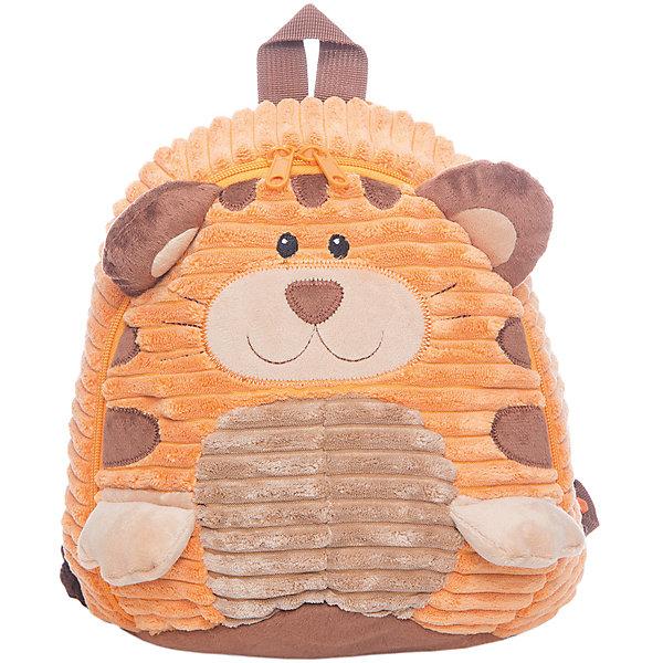 Рюкзачок Тигренок, бежево-оранжевый,  20*28 см.Детские рюкзаки<br>Рюкзачок Тигренок, бежево-оранжевый,  20*28 см., Shantou Gepai (Шанту Гепаи)<br><br>Характеристики:<br><br>• легкий и удобный<br>• оригинальный дизайн<br>• регулируемые лямки<br>• застегивается на молнию<br>• размер: 20х28х8см<br>• материал: искусственный мех, текстиль, пластик<br>• размер упаковки: 20х28х8 см<br>• вес: 167 грамм<br><br>Легкий удобный рюкзачок Тигренок отлично дополнит образ юного модника. Рюкзачок выполнен в виде милого тигренка с объемными ушками и лапками. Основное отделение рюкзака закрывается при помощи молнии. Лямки не натирают плечи и регулируются в соответствии с ростом ребенка.<br><br>Рюкзачок Тигренок, бежево-оранжевый,  20*28 см., Shantou Gepai (Шанту Гепаи) вы можете купить в нашем интернет-магазине.<br><br>Ширина мм: 200<br>Глубина мм: 280<br>Высота мм: 800<br>Вес г: 167<br>Возраст от месяцев: 36<br>Возраст до месяцев: 2147483647<br>Пол: Унисекс<br>Возраст: Детский<br>SKU: 5508546