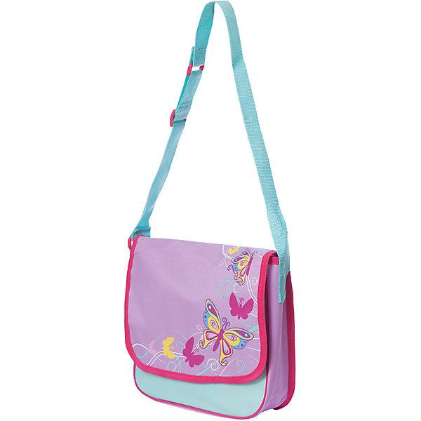 Сумка Бабочки 30*8*24 см.Детские сумки<br>Сумка Бабочки 30*8*24 см., Mary Poppins (Мэри Поппинс)<br><br>Характеристики:<br><br>• яркий дизайн<br>• вместительное отделение<br>• регулируемая лямка<br>• размер: 30х8х24 см<br>• материал: текстиль, пластик<br>• размер упаковки: 30х8х24 см<br>• вес: 168 грамм<br><br>Сумка Бабочки отлично подойдет для занятий и прогулок юной модницы. Сумка имеет вместительное отделение, застегивающееся на липучку. Широкий ремень не натирает плечо и регулируется при необходимости. Сумка выполнена в розовом и мятном тонах и декорирована ярким принтом с изображением порхающих бабочек.<br><br>Сумка Бабочки 30*8*24 см. , Mary Poppins (Мэри Поппинс)вы можете купить в нашем интернет-магазине.<br>Ширина мм: 300; Глубина мм: 240; Высота мм: 800; Вес г: 168; Возраст от месяцев: 36; Возраст до месяцев: 2147483647; Пол: Женский; Возраст: Детский; SKU: 5508549;