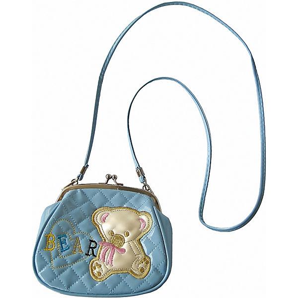 Сумочка Мишка на плечо, 16*19 см.Детские сумки<br>Сумочка Мишк на плечо, 16*19 см., Shantou Gepai (Шанту Гепаи)<br><br>Характеристики:<br><br>• длинная лямка<br>• стильный дизайн<br>• надежная застежка<br>• материал: текстиль<br>• размер: 16х19 см<br>• размер упаковки: 19х16х3 см<br>• вес: 97 грамм<br><br>Маленькая стильная сумочка - аксессуар, необходимый каждой маленькой моднице. В сумочке Мишка девочка сможет разместить любимую косметику, зеркальце и бижутерию. Сумка имеет надежную застежку и длинную лямку, позволяющую носить сумочку на плече. Передняя часть оформлена изображением милого медвежонка.<br><br>Сумочку Мишка на плечо, 16*19 см., Shantou Gepai (Шанту Гепаи) вы можете купить в нашем интернет-магазине.<br><br>Ширина мм: 190<br>Глубина мм: 160<br>Высота мм: 300<br>Вес г: 98<br>Возраст от месяцев: 36<br>Возраст до месяцев: 2147483647<br>Пол: Женский<br>Возраст: Детский<br>SKU: 5508565