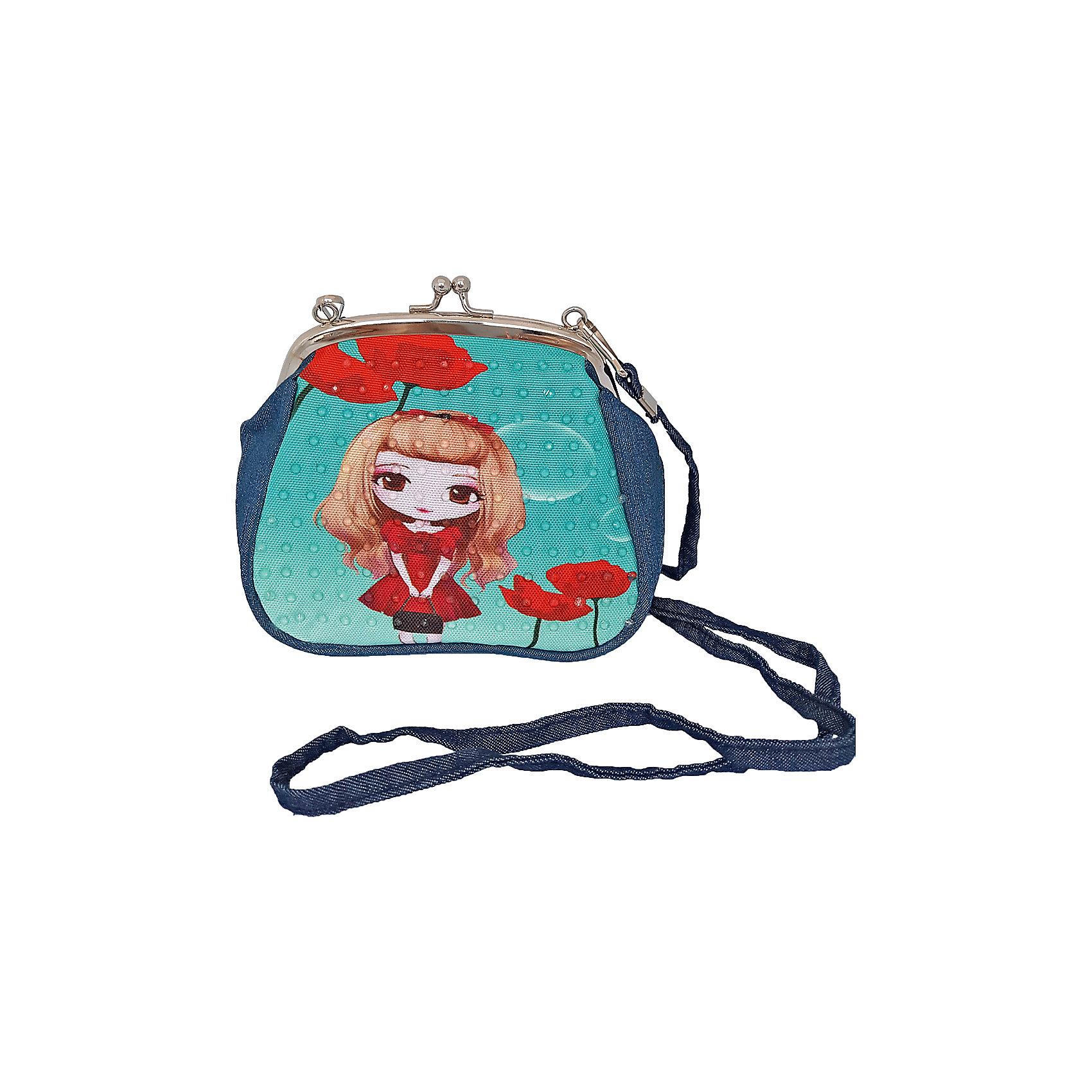 Сумочка с замочком Подружка-скромница, 16х14 см.Детские сумки<br>Сумочка с замочком Подружка-скромница, 16х14 см., Shantou Gepai (Шанту Гепаи)<br><br>Характеристики:<br><br>• ремешок в комплекте<br>• стильный дизайн<br>• материал: текстиль, металл<br>• размер: 16х14см<br>• размер упаковки: 17х17х3 см<br>• вес: 83 грамма<br><br>Сумочка Подружка-скромница - прекрасный подарок для маленькой модницы. Сумочка легко открывается и закрывается с помощью удобной застежки. Сама сумочка выполнена в ярких цветах с изображением девочки. По своему строению модель напоминает большой кошелечек. В комплект входит ремешок.<br><br>Сумочку с замочком Подружка-скромница, 16х14 см., Shantou Gepai (Шанту Гепаи) можно купить в нашем интернет-магазине.<br><br>Ширина мм: 170<br>Глубина мм: 170<br>Высота мм: 300<br>Вес г: 83<br>Возраст от месяцев: 36<br>Возраст до месяцев: 2147483647<br>Пол: Женский<br>Возраст: Детский<br>SKU: 5508573