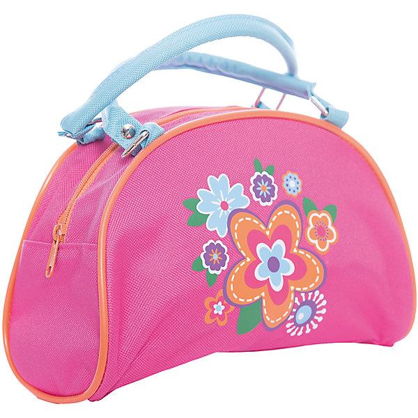 Сумочка Цветок 22*9*13.5 см.Детские сумки<br>Сумочка Цветок 22*9*13.5 см., Mary Poppins (Мэри Поппинс)<br><br>Характеристики:<br><br>• две ручки<br>• вместительное отделение<br>• стильный дизайн<br>• материал: текстиль, пластик<br>• размер: 22х9х13,5 см<br>• цвет: розовый<br>• размер упаковки: 22х17х20 см<br>• вес: 52 грамма<br><br>Стильная и удобная сумочка Цветок непременно порадует маленькую модницу. Сумка изготовлена из качественных прочных материалов, которые хорошо выдерживают нагрузку. Девочка сможет взять с собой любимую косметику, заколки, зеркальце и другие аксессуары. Сумка имеет одно основное отделение и две удобные ручки. Лицевая часть декорирована принтом с изображением цветов.<br><br>Сумочку Цветок 22*9*13.5 см., Mary Poppins (Мэри Поппинс) можно купить в нашем интернет-магазине.<br>Ширина мм: 220; Глубина мм: 170; Высота мм: 200; Вес г: 52; Возраст от месяцев: 36; Возраст до месяцев: 2147483647; Пол: Женский; Возраст: Детский; SKU: 5508576;
