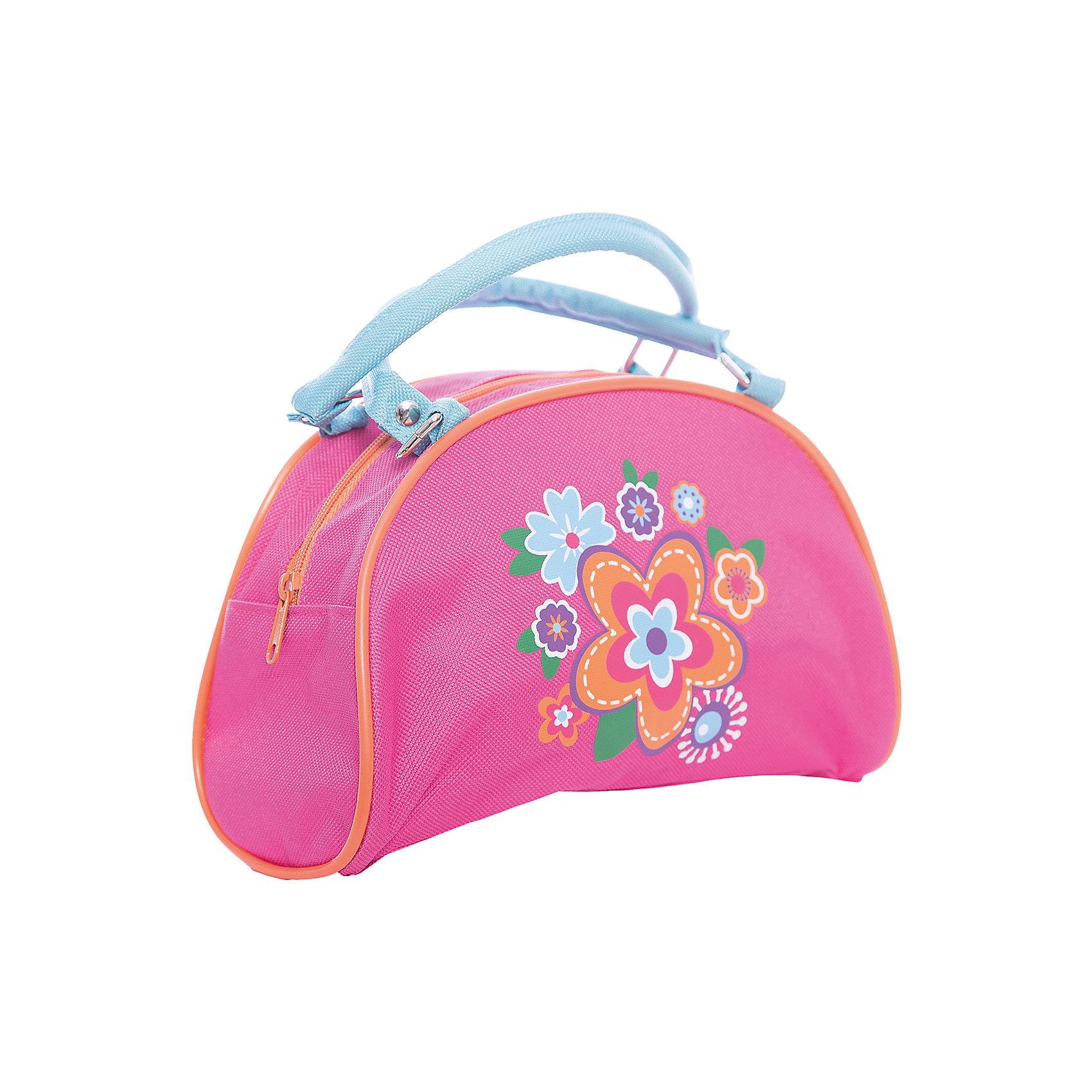 Сумочка Цветок 22*9*13.5 см.Детские сумки<br>Сумочка Цветок 22*9*13.5 см., Mary Poppins (Мэри Поппинс)<br><br>Характеристики:<br><br>• две ручки<br>• вместительное отделение<br>• стильный дизайн<br>• материал: текстиль, пластик<br>• размер: 22х9х13,5 см<br>• цвет: розовый<br>• размер упаковки: 22х17х20 см<br>• вес: 52 грамма<br><br>Стильная и удобная сумочка Цветок непременно порадует маленькую модницу. Сумка изготовлена из качественных прочных материалов, которые хорошо выдерживают нагрузку. Девочка сможет взять с собой любимую косметику, заколки, зеркальце и другие аксессуары. Сумка имеет одно основное отделение и две удобные ручки. Лицевая часть декорирована принтом с изображением цветов.<br><br>Сумочку Цветок 22*9*13.5 см., Mary Poppins (Мэри Поппинс) можно купить в нашем интернет-магазине.<br><br>Ширина мм: 220<br>Глубина мм: 170<br>Высота мм: 200<br>Вес г: 52<br>Возраст от месяцев: 36<br>Возраст до месяцев: 2147483647<br>Пол: Женский<br>Возраст: Детский<br>SKU: 5508576