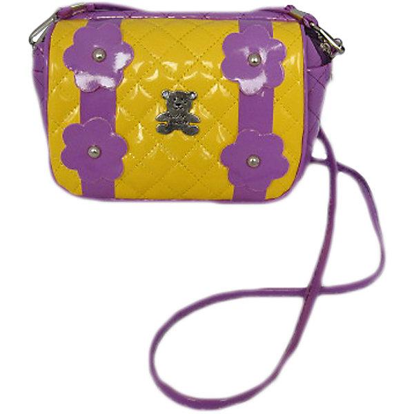 Сумочка Цветы на плечо, сирен/желт.Детские сумки<br>Сумочка Цветы на плечо, сирен/желт., Shantou Gepai (Шанту Гепаи)<br><br>Характеристики:<br><br>• длинная лямка<br>• вместительное отделение<br>• стильный дизайн<br>• материал: текстиль, металл<br>• размер: 21х18 см<br>• цвет: сиреневый/желтый<br>• размер упаковки: 21х18х3 см<br>• вес: 101 грамм<br><br>Удобная сумочка Цветы пригодится девочки при походах в гости или на прогулку. Сумка имеет одно вместительное отделение и длинную ручку, с помощью которой девочка сможет носить сумочку по-взрослому. Сумочка Цветы отличается привлекательным дизайном. Лицевая сторона украшена покрытием под лак и декоративными цветами. С этой сумочкой юная модница всегда будет в центре внимания!<br><br>Сумочку Цветы на плечо, сирен/желт., Shantou Gepai (Шанту Гепаи) вы можете купить в нашем интернет-магазине.<br><br>Ширина мм: 210<br>Глубина мм: 180<br>Высота мм: 300<br>Вес г: 101<br>Возраст от месяцев: 36<br>Возраст до месяцев: 2147483647<br>Пол: Женский<br>Возраст: Детский<br>SKU: 5508578