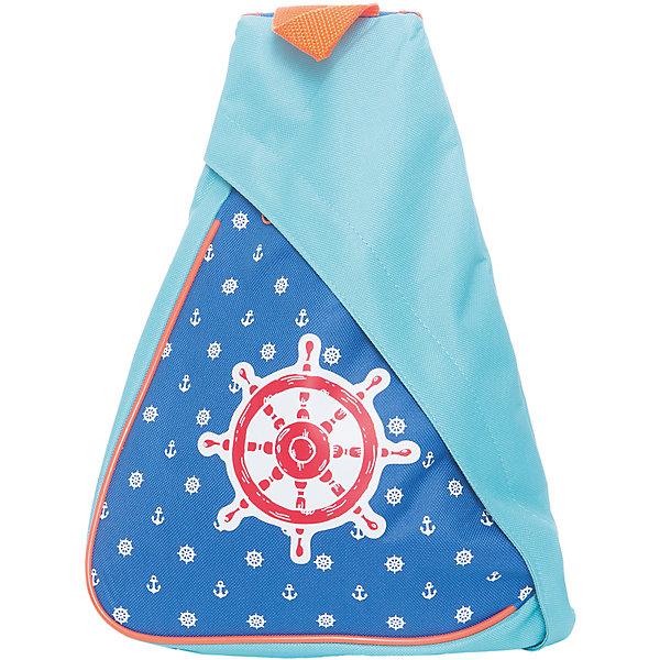 Треугольный рюкзак МореДетские рюкзаки<br>Треугольный рюкзак Море, Mary Poppins (Мэри Поппинс)<br><br>Характеристики:<br><br>• треугольная форма<br>• регулируемые лямки<br>• застегивается на молнию<br>• размер: 34х12х42 см<br>• материал: текстиль<br>• размер упаковки: 30х40х10 см<br>• вес: 156 грамм<br><br>Треугольный рюкзачок от Mary Poppins непременно порадует дошкольников, которые любят всё, что связано с морем. Модель имеет треугольную форму и мягкую спинку, позволяющую огибать рельеф спины. Рюкзак выполнен в сине-голубых тонах и оформлен изображением штурвала и морской звезды. Лямки рюкзака регулируются в соответствии с ростом ребенка.<br><br>Треугольный рюкзак Море, Mary Poppins (Мэри Поппинс) вы можете купить в нашем интернет-магазине.<br><br>Ширина мм: 300<br>Глубина мм: 400<br>Высота мм: 100<br>Вес г: 156<br>Возраст от месяцев: 36<br>Возраст до месяцев: 2147483647<br>Пол: Мужской<br>Возраст: Детский<br>SKU: 5508579