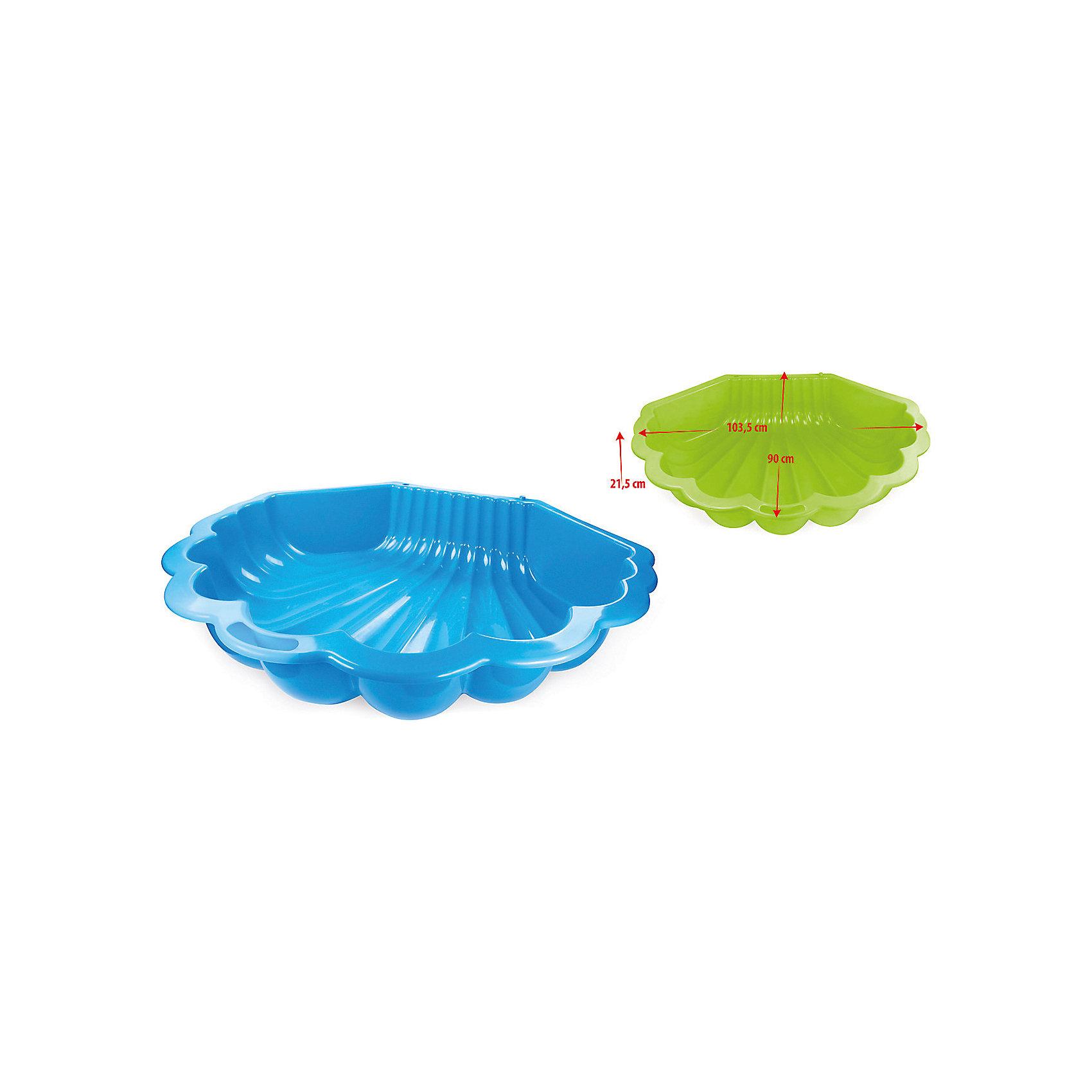 Песочница Ракушка, MacyszynИграем в песочнице<br>Песочница Ракушка, Macyszyn.<br><br>Характеристики:<br><br>• Для детей в возрасте: от 1 года<br>• Размер: 108х78х19 см.<br>• Материал: пластик<br>• Цвет: красный<br>• Вес в упаковке: 1,6 кг.<br><br>Яркая песочница Ракушка (одинарная) изготовлена из высококачественного экологически чистого пластика, устойчивого к воздействию температур. Поверхность песочницы не выгорает на солнце. Песочница не имеет острых углов. Она легкая и компактная. Выступы с двух сторон выполняют функции скамеечек. Может использоваться и как песочница, и как мини бассейн. С такой песочницей Вы будет спокойны за чистоту песка, в котором играет ребенок. Дома песочницу можно использовать для игры с кинетическим песком и для хранения игрушек.<br><br>Песочницу Ракушка, Macyszyn можно купить в нашем интернет-магазине.<br><br>Ширина мм: 1080<br>Глубина мм: 780<br>Высота мм: 190<br>Вес г: 1600<br>Возраст от месяцев: 12<br>Возраст до месяцев: 120<br>Пол: Унисекс<br>Возраст: Детский<br>SKU: 5510727