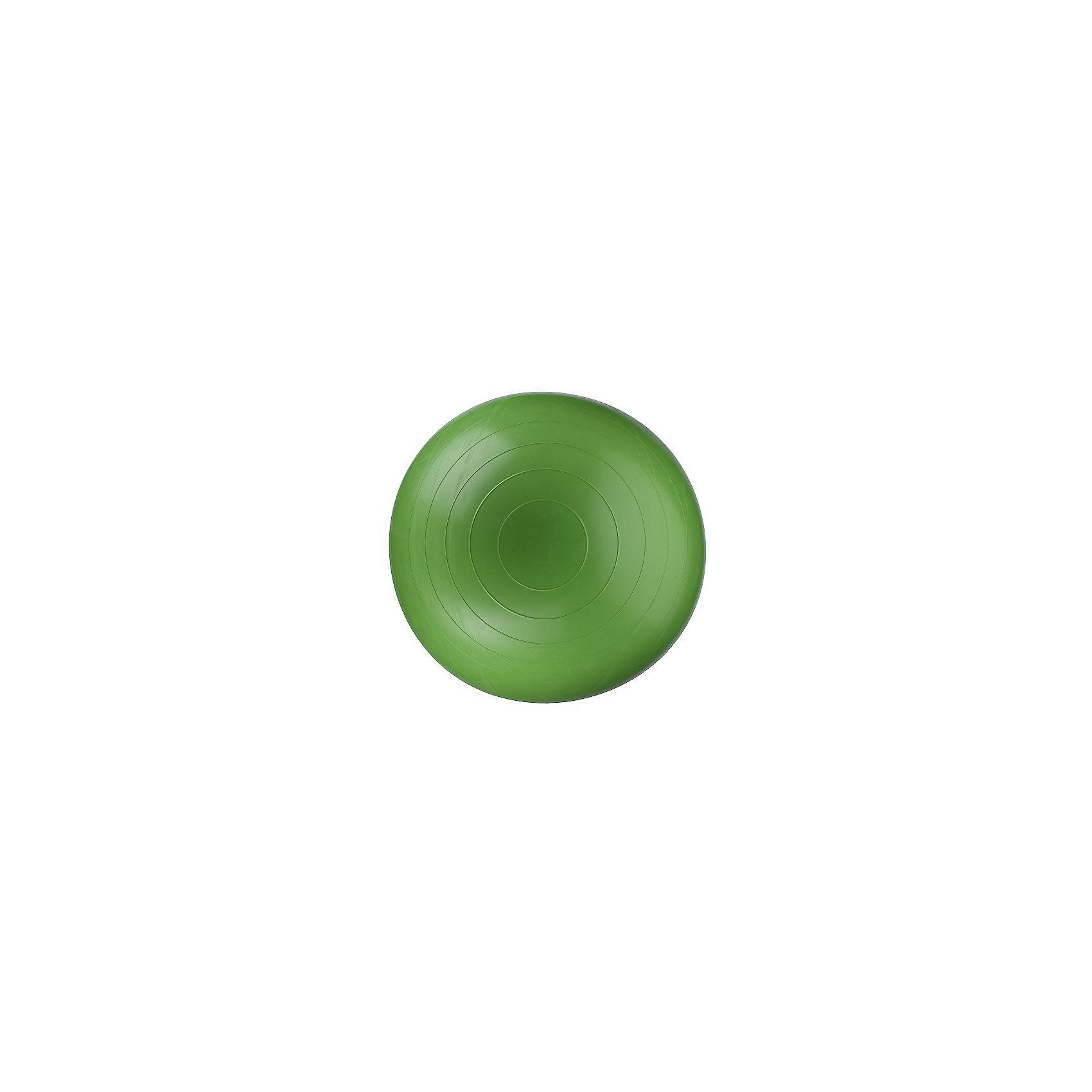 Мяч гимнастический (Фитбол), ?55см зеленый, DOKAТренажёры<br>Мяч гимнастический (Фитбол), ?55см зеленый, DOKA.<br><br>Характеристики:<br><br>• Возврат: от 4 месяцев до 16 лет<br>• Диаметр гимнастического мяча: 55 см.<br>• Выдерживает нагрузку до 200 кг.<br>• Система антивзрыв<br>• Материал: ПВХ (Германия)<br>• Цвет: зеленый<br><br>Яркий гимнастический мяч (фитбол) от отечественного производителя предназначен для: занятий спортивной и лечебной гимнастикой; развития и укрепления мышц спины, рук, живота и ног; формирования правильной осанки; игр и отдыха. Идеально подходит для занятий с детьми с 4-месячного возраста с целью формирования правильных рефлексов и развития координации движения. Фитбол снабжен системой антивзрыв, изготовлен на итальянском оборудовании из нетоксичного и гипоаллергенного ПВХ (Германия) безвредного для детей любого возраста. Мяч очень легкий и компактный, надувается насосом в считанные минуты. Во время гимнастики на фитболе сгорает больше килокалорий, чем при простой силовой тренировке, так как равномерно прорабатываются те группы мышц, которые обычно недоступны, особенно мышцы брюшного пресса и спины.<br><br>Мяч гимнастический (Фитбол), ?55см зеленый, DOKA можно купить в нашем интернет-магазине.<br><br>Ширина мм: 122<br>Глубина мм: 153<br>Высота мм: 254<br>Вес г: 1020<br>Возраст от месяцев: 4<br>Возраст до месяцев: 192<br>Пол: Унисекс<br>Возраст: Детский<br>SKU: 5510730