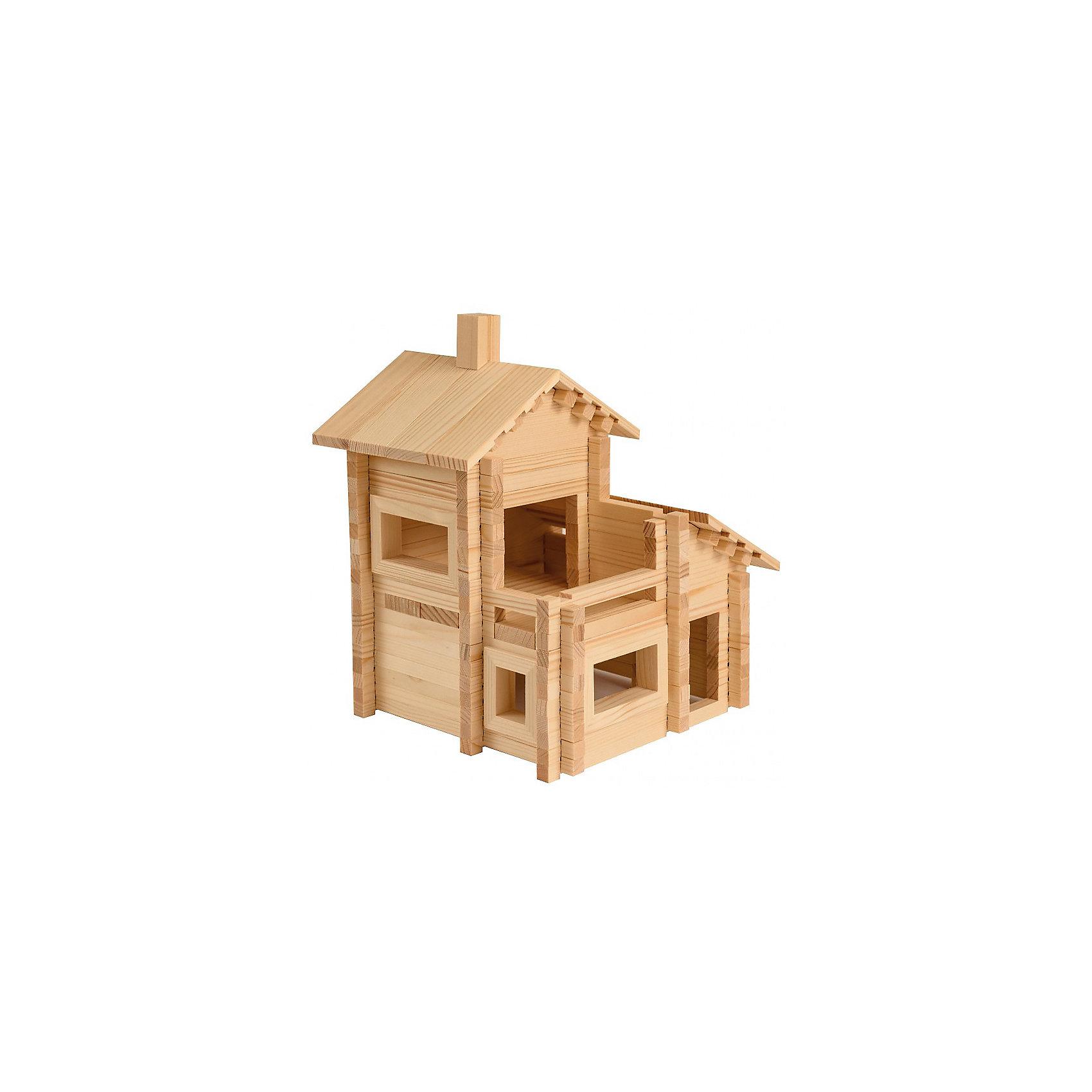 Конструктор Разборный домик №4, 200 деталей, ЛЕСОВИЧОКДеревянные конструкторы<br>Конструктор Разборный домик №4, 200 деталей, ЛЕСОВИЧОК<br><br>Характеристики:<br><br>• можно собрать 19 различных домиков<br>• подробная инструкция в комплекте<br>• материал: дерево<br>• количество деталей: 200<br>• размер домика: 20х20х25 см<br>• размер упаковки: 29,5х26,5х7 см<br>• вес: 1163 грамма<br><br>Из конструктора Разборный домик №4 ребенок сможет собрать 19 домиков разного вида. Детали легко соединяются между собой и подходят к аналогичным наборам. Готовый домик можно использовать для игр с куклами или игрушками. Конструктор развивает мелкую моторику, внимательность, логическое мышление и координацию движений.<br><br>Конструктор Разборный домик №4, 200 деталей, ЛЕСОВИЧОК вы можете купить в нашем интернет-магазине.<br><br>Ширина мм: 265<br>Глубина мм: 290<br>Высота мм: 70<br>Вес г: 1163<br>Возраст от месяцев: 36<br>Возраст до месяцев: 2147483647<br>Пол: Унисекс<br>Возраст: Детский<br>SKU: 5510773
