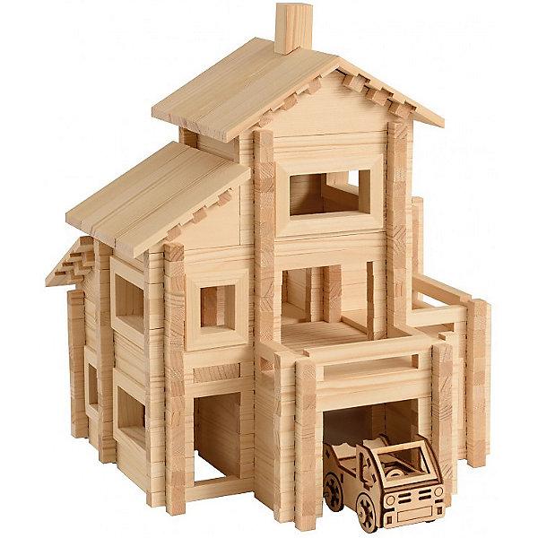 Конструктор Разборный домик №6, 320 деталей, ЛЕСОВИЧОКДеревянные конструкторы<br>Конструктор Разборный домик №6, 320 деталей, ЛЕСОВИЧОК<br><br>Характеристики:<br><br>• можно собрать 26 различных домиков<br>• подробная инструкция в комплекте<br>• материал: дерево<br>• количество деталей: 320<br>• размер домика: 26х25х26 см<br>• размер упаковки: 26х37х8 см<br>• вес: 1767 грамм<br><br>Конструктор Разборный домик №6 - настоящая находка для юных архитекторов. С его помощью ребенок сможет собрать 26 вариантов деревянных домиков или даже теремков. В набор входит подробная инструкция с описанием процесса сборки. Игра с конструктором способствует развитию моторики рук, логики, координации движений и внимательности.<br><br>Конструктор Разборный домик №6, 320 деталей, ЛЕСОВИЧОК можно купить в нашем интернет-магазине.<br><br>Ширина мм: 260<br>Глубина мм: 370<br>Высота мм: 80<br>Вес г: 1767<br>Возраст от месяцев: 36<br>Возраст до месяцев: 2147483647<br>Пол: Унисекс<br>Возраст: Детский<br>SKU: 5510774