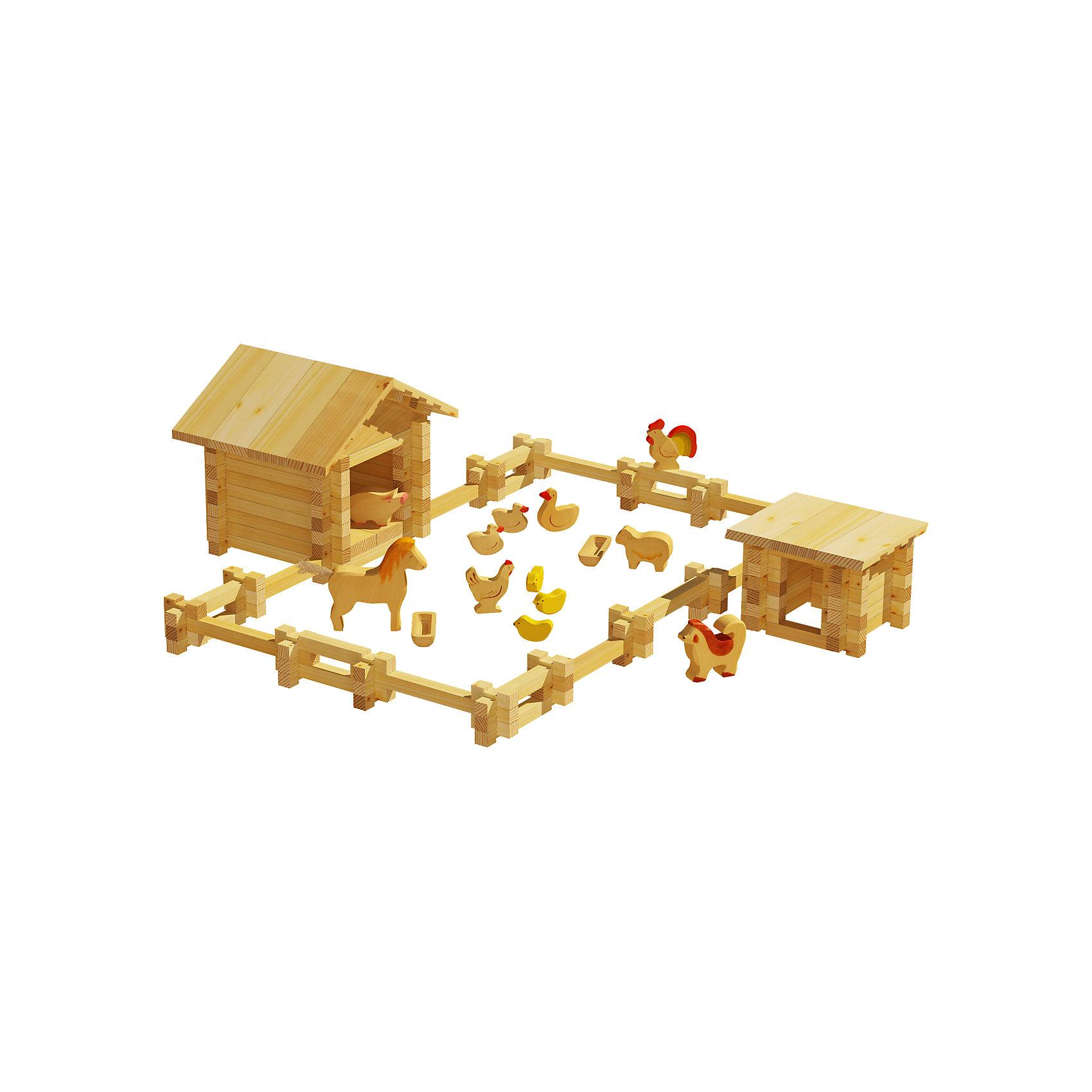 Конструктор Солнечная ферма №2, 180 деталей, ЛЕСОВИЧОКДеревянные конструкторы<br>Конструктор Солнечная ферма №2, 180 деталей, ЛЕСОВИЧОК<br><br>Характеристики:<br><br>• можно собрать миниатюрную модель настоящей фермы<br>• подробная инструкция в комплекте<br>• материал: дерево<br>• количество деталей: 180<br>• размер упаковки: 10х40х35 см<br>• вес: 863 грамма<br><br>Конструктор Солнечная ферма №2 придется по вкусу начинающим архитекторам. Из 180 деталей ребенок сможет собрать миниатюрную копию настоящей фермы с загоном и животными. Все детали легко соединяются друг с другом и подходят к другим наборам Солнечная ферма. Детали выполнены из дерева, что делает их полностью безопасными для ребенка. Подробная инструкция поможет не ошибиться в процессе сборки. Конструктор помогает развить моторику рук, внимательность и мелкую моторику.<br><br>Конструктор Солнечная ферма №2, 180 деталей, ЛЕСОВИЧОК можно купить в нашем интернет-магазине.<br><br>Ширина мм: 265<br>Глубина мм: 290<br>Высота мм: 70<br>Вес г: 863<br>Возраст от месяцев: 36<br>Возраст до месяцев: 2147483647<br>Пол: Унисекс<br>Возраст: Детский<br>SKU: 5510776