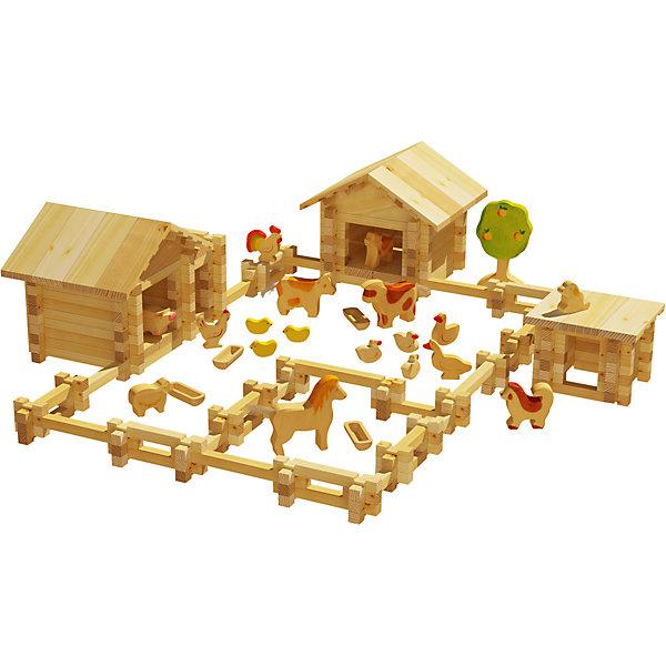 Конструктор Солнечная ферма №4, 300 деталей, ЛЕСОВИЧОКДеревянные конструкторы<br>Конструктор Солнечная ферма №4, 300 деталей, ЛЕСОВИЧОК<br><br>Характеристики:<br><br>• можно собрать миниатюрную модель настоящей фермы<br>• подробная инструкция в комплекте<br>• материал: дерево<br>• количество деталей: 300<br>• размер упаковки: 8х37х26 см<br>• вес: 1467 грамм<br><br>Конструктор Солнечная ферма №4 придется по вкусу начинающим архитекторам. Из 300 деталей ребенок сможет собрать миниатюрную копию настоящей фермы с загоном и животными. Конструктор №4 дополнен деревьями и дополнительными постройками. Все детали легко соединяются друг с другом и подходят к другим наборам Солнечная ферма. Детали выполнены из дерева, что делает их полностью безопасными для ребенка. Подробная инструкция поможет не ошибиться в процессе сборки. Конструктор помогает развить моторику рук, внимательность и мелкую моторику.<br><br>Конструктор Солнечная ферма №4, 300 деталей, ЛЕСОВИЧОК вы можете купить в нашем интернет-магазине.<br><br>Ширина мм: 260<br>Глубина мм: 370<br>Высота мм: 80<br>Вес г: 1467<br>Возраст от месяцев: 36<br>Возраст до месяцев: 2147483647<br>Пол: Унисекс<br>Возраст: Детский<br>SKU: 5510777