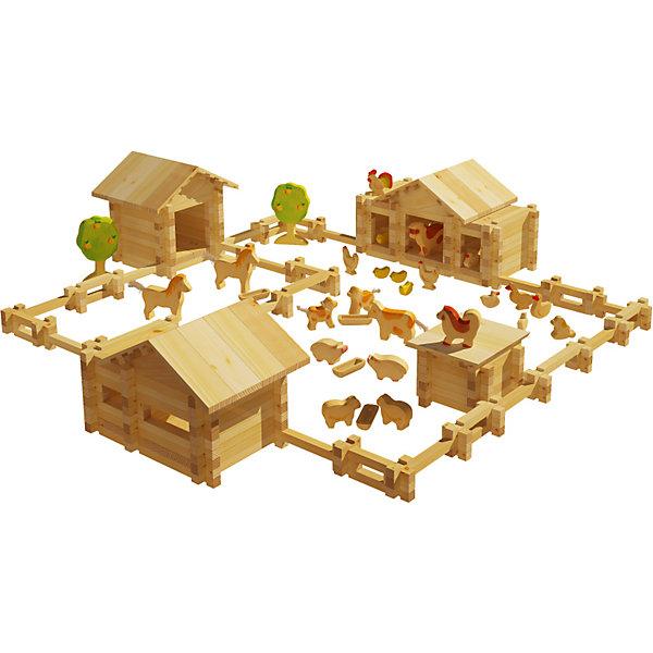 Конструктор Солнечная ферма №5, 451 деталей, ЛЕСОВИЧОКДеревянные конструкторы<br>Конструктор Солнечная ферма №5, 451 деталей, ЛЕСОВИЧОК<br><br>Характеристики:<br><br>• можно собрать миниатюрную модель настоящей фермы<br>• подробная инструкция в комплекте<br>• материал: дерево<br>• количество деталей: 451<br>• размер упаковки: 8х42х29,5 см<br>• вес: 2275 грамм<br><br>Конструктор Солнечная ферма №5 придется по вкусу начинающим архитекторам. Из 451 детали ребенок сможет собрать миниатюрную копию настоящей фермы с загоном и животными. Конструктор №5 дополнен деревьями и дополнительными постройками. Все детали легко соединяются друг с другом и подходят к другим наборам Солнечная ферма. Детали выполнены из дерева, что делает их полностью безопасными для ребенка. Подробная инструкция поможет не ошибиться в процессе сборки. Конструктор помогает развить моторику рук, внимательность и мелкую моторику.<br><br>Конструктор Солнечная ферма №5, 451 деталей, ЛЕСОВИЧОК вы можете купить в нашем интернет-магазине.<br>Ширина мм: 295; Глубина мм: 420; Высота мм: 80; Вес г: 2275; Возраст от месяцев: 36; Возраст до месяцев: 2147483647; Пол: Унисекс; Возраст: Детский; SKU: 5510778;