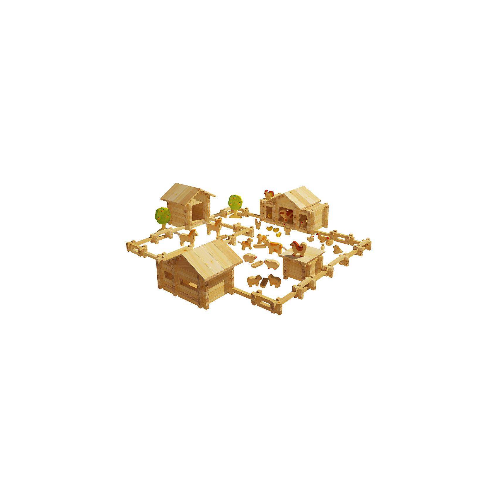 Конструктор Солнечная ферма №5, 451 деталей, ЛЕСОВИЧОКДеревянные конструкторы<br>Конструктор Солнечная ферма №5, 451 деталей, ЛЕСОВИЧОК<br><br>Характеристики:<br><br>• можно собрать миниатюрную модель настоящей фермы<br>• подробная инструкция в комплекте<br>• материал: дерево<br>• количество деталей: 451<br>• размер упаковки: 8х42х29,5 см<br>• вес: 2275 грамм<br><br>Конструктор Солнечная ферма №5 придется по вкусу начинающим архитекторам. Из 451 детали ребенок сможет собрать миниатюрную копию настоящей фермы с загоном и животными. Конструктор №5 дополнен деревьями и дополнительными постройками. Все детали легко соединяются друг с другом и подходят к другим наборам Солнечная ферма. Детали выполнены из дерева, что делает их полностью безопасными для ребенка. Подробная инструкция поможет не ошибиться в процессе сборки. Конструктор помогает развить моторику рук, внимательность и мелкую моторику.<br><br>Конструктор Солнечная ферма №5, 451 деталей, ЛЕСОВИЧОК вы можете купить в нашем интернет-магазине.<br><br>Ширина мм: 295<br>Глубина мм: 420<br>Высота мм: 80<br>Вес г: 2275<br>Возраст от месяцев: 36<br>Возраст до месяцев: 2147483647<br>Пол: Унисекс<br>Возраст: Детский<br>SKU: 5510778