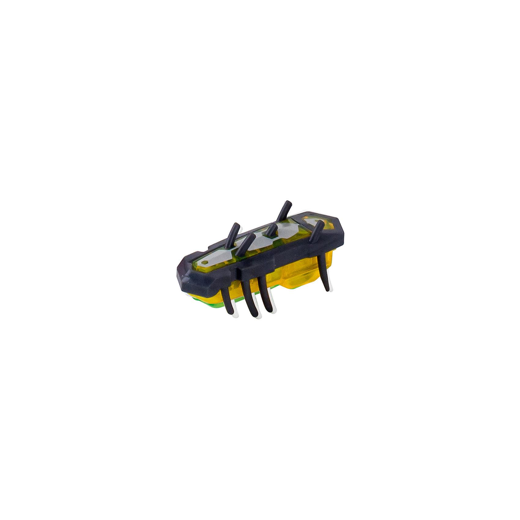 Микро-робот Nano Nitro Single , серо-желтый, HexbugИнтерактивные игрушки для малышей<br>Микро-робот Nano Nitro Single, серо-желтый, Hexbug (Хексбаг)<br><br>Характеристики:<br><br>• быстро меняет траекторию движения<br>• самостоятельно переворачивается<br>• карабкается наверх<br>• мощный моторчик<br>• устойчив к повреждениям<br>• 8 ножек снизу и 5 сверху<br>• батарейки: AG13 - 1 шт. (входит в комплект)<br>• размер: 1,4х2х4,2 см<br>• вес: 8 грамм<br>• цвет: серо-желтый<br>• материал: пластик<br>• размер упаковки: 13х5х3 см<br>• вес: 65 грамм<br><br>Микро-робот Nano Nitro Single очень напоминает настоящего жучка. Он также быстро бегает, меняет траекторию движения и даже самостоятельно переворачивается в случае падения. Благодаря усовершенствованному моторчику жучок способен карабкаться наверх по специальным трубочкам. Игрушка подходит для старых и новых моделей нанодромов Hexbug.<br><br>Микро-робот Nano Nitro Single, серо-желтый, Hexbug (Хексбаг) можно купить в нашем интернет-магазине.<br><br>Ширина мм: 130<br>Глубина мм: 25<br>Высота мм: 25<br>Вес г: 30<br>Возраст от месяцев: 36<br>Возраст до месяцев: 2147483647<br>Пол: Унисекс<br>Возраст: Детский<br>SKU: 5510812