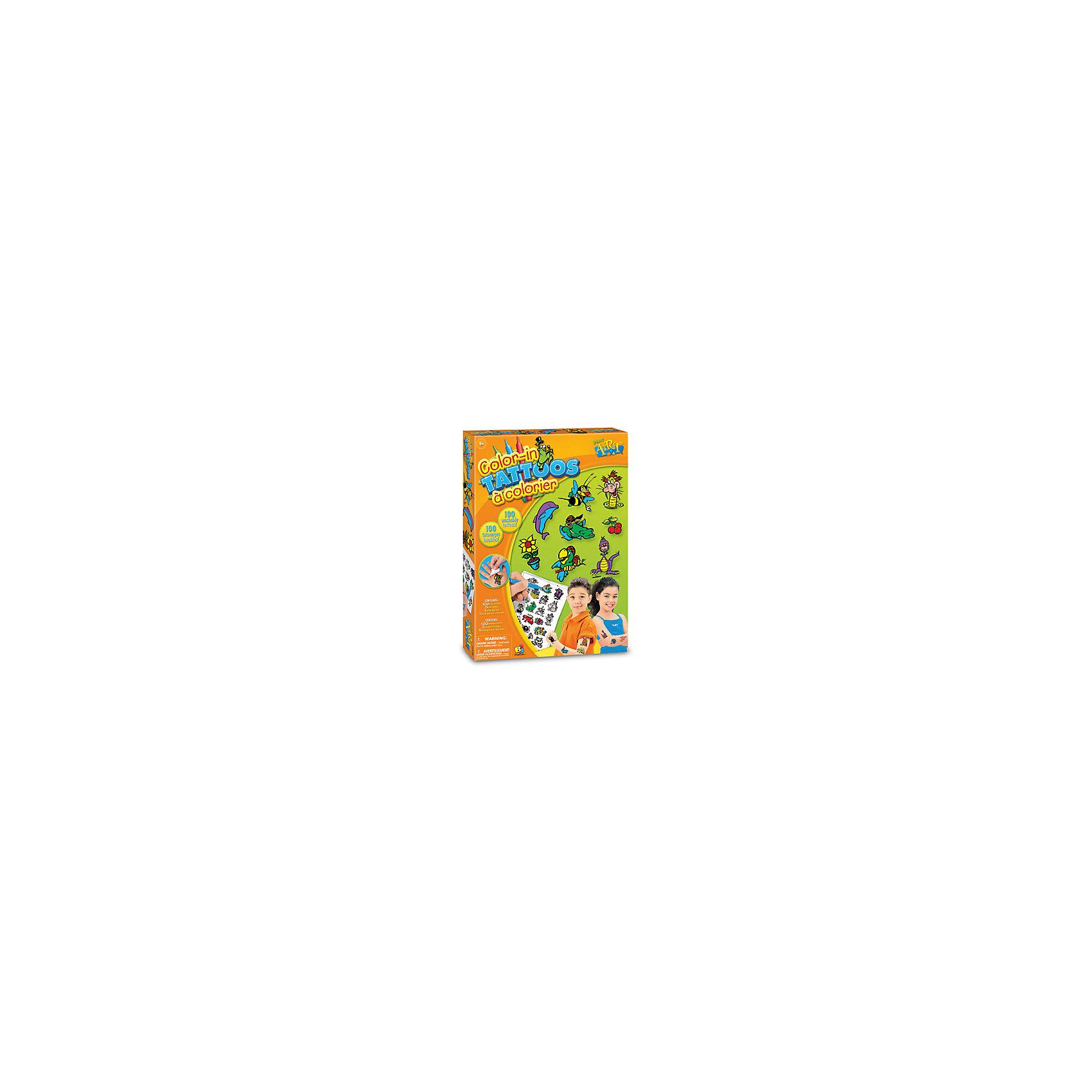 Цветные переводные татуировкиКосметика, грим и парфюмерия<br><br><br>Ширина мм: 297<br>Глубина мм: 40<br>Высота мм: 213<br>Вес г: 184<br>Возраст от месяцев: 60<br>Возраст до месяцев: 168<br>Пол: Унисекс<br>Возраст: Детский<br>SKU: 5511154