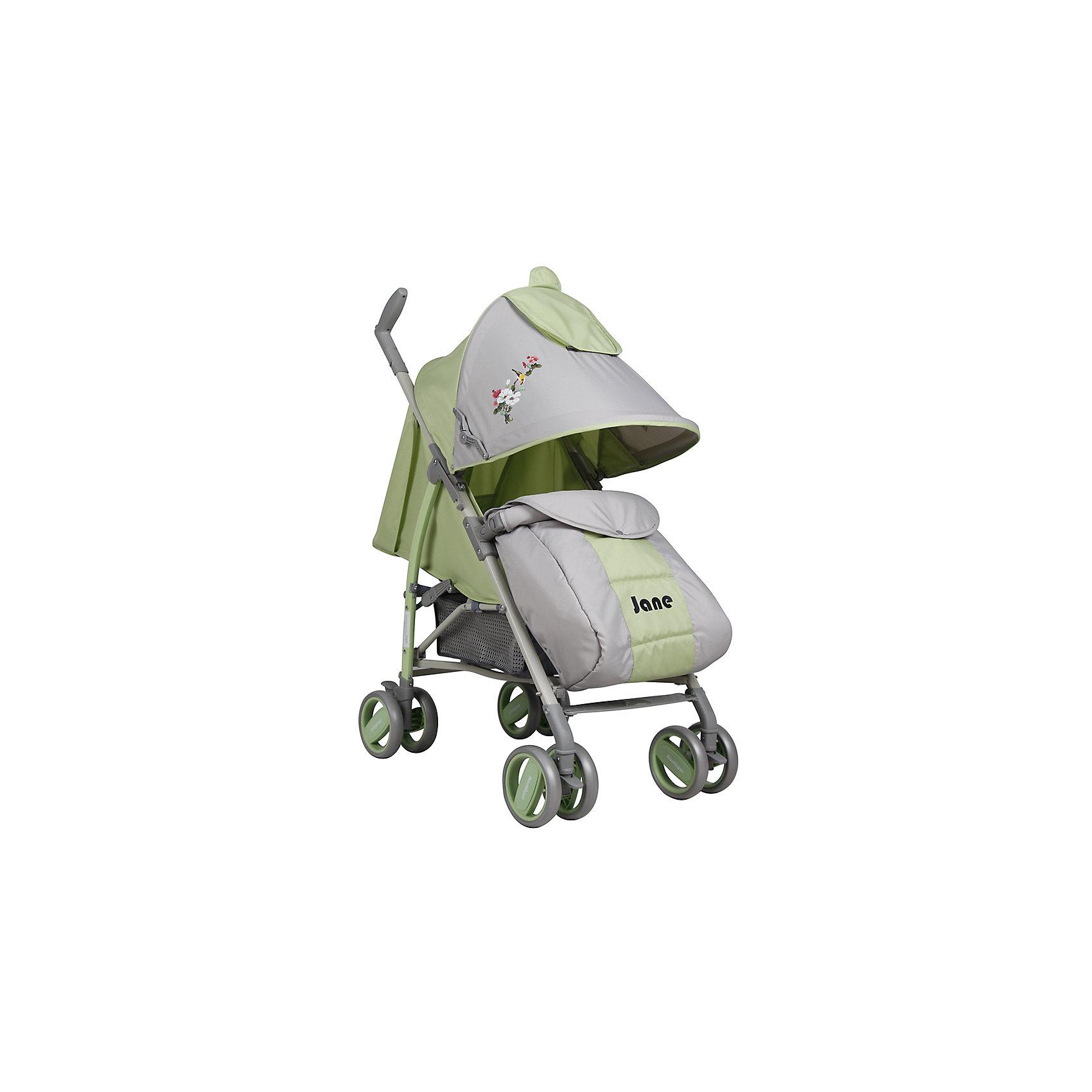 Коляска-трость Indigo JANE, зеленыйНедорогие коляски<br>Характеристики коляски-трости Indigo JANE<br><br>Прогулочный блок:<br><br>• регулируемая спинка: угол наклона 160 градусов;<br>• регулируемая подножка, 2 положения;<br>• 2-х точечные ремни безопасности;<br>• смотровое окошко под клапаном; <br>• капюшон оснащен солнцезащитным козырьком, <br>• имеется дополнительная секция на липучке, капюшон раскладывается достаточно низко;<br>• кармашек под клапаном;<br>• съемный бампер с мягкой накладкой;<br>• имеется разделитель для ножек;<br>• чехол на ножки согревает ребенка в прохладную погоду.<br><br>Рама коляски: <br><br>• сдвоенные колеса: плавающие передние с блокировкой, задние оснащены тормозом;<br>• механизм складывания: трость;<br>• диаметр колес: 15 см;<br>• материал колес - пластик.<br><br>Размер коляски в сложенном виде: 102х13,5х18 см<br>Вес коляски: 7,7 кг<br>Вес в упаковке: 8 кг<br><br>Коляску-трость JANE, Indigo, зеленый цвет можно купить в нашем интернет-магазине.<br><br>Ширина мм: 1020<br>Глубина мм: 135<br>Высота мм: 180<br>Вес г: 7700<br>Возраст от месяцев: 12<br>Возраст до месяцев: 36<br>Пол: Унисекс<br>Возраст: Детский<br>SKU: 5511829