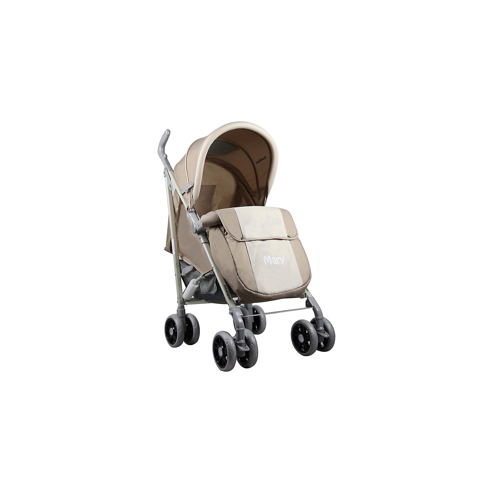 Коляска-трость Indigo MARY, бежевыйНедорогие коляски<br>Характеристики коляски-трости Indigo MARY<br><br>Прогулочный блок:<br><br>• регулируемая спинка: угол наклона 160 градусов;<br>• регулируемая подножка, 2 положения;<br>• 3-х точечные ремни безопасности;<br>• смотровое окошко под клапаном; <br>• капюшон оснащен солнцезащитным козырьком, <br>• кармашек под клапаном;<br>• бампер с мягкой накладкой отводится в сторону для посадки ребенка;<br>• имеется разделитель для ножек;<br>• чехол на ножки согревает ребенка в прохладную погоду.<br><br>Рама коляски: <br><br>• сдвоенные колеса: плавающие передние с блокировкой, задние оснащены тормозом;<br>• механизм складывания: трость;<br>• диаметр колес: 15 см;<br>• материал колес - пластик.<br><br>Размер коляски в сложенном виде: 94х11,х16 см<br>Вес коляски: 7,7 кг<br>Вес в упаковке: 8 кг<br><br>Коляску-трость MARY, Indigo, бежевый можно купить в нашем интернет-магазине.<br><br>Ширина мм: 940<br>Глубина мм: 115<br>Высота мм: 160<br>Вес г: 7700<br>Возраст от месяцев: 12<br>Возраст до месяцев: 36<br>Пол: Унисекс<br>Возраст: Детский<br>SKU: 5511837