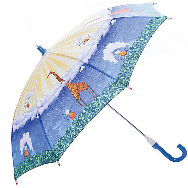 Зонт-трость, детский, со светодиодами, Zest, рисунок ЖирафЗонты детские<br>Красочный детский зонтик Zest трость, механика, 8 спиц, купол 72 см, материал купола полиэстер, ручка зонта из пластика, материал каркаса - сталь. Концы спиц зонтика прикрыты специальными колпачками. ВЕТРОУСТОЙЧИВАЯ КОНСТРУКЦИЯ. Внимание! В сильный ветер не эксплуатировать! Зонт может сломаться. Гарантия 6 месяцев, срок службы 5 лет.<br><br>Ширина мм: 690<br>Глубина мм: 0<br>Высота мм: 0<br>Вес г: 280<br>Цвет: синий<br>Возраст от месяцев: 36<br>Возраст до месяцев: 2147483647<br>Пол: Унисекс<br>Возраст: Детский<br>SKU: 5511983