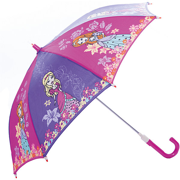 Зонт-трость, детский, со светодиодами, Zest, рисунок ПринцессыЗонты детские<br>Красочный детский зонтик Zest 21551  со светодиодами (на кончиках спиц и на куполе в центре), трость, механика, 8 спиц, купол 78 см, материал купола полиэстер, ручка зонта из пластика, материал каркаса - сталь. Концы спиц зонтика прикрыты специальными колпачками-лампочками. ВЕТРОУСТОЙЧИВАЯ КОНСТРУКЦИЯ. Внимание! В сильный ветер не эксплуатировать! Зонт может сломаться. Гарантия 6 месяцев, срок службы 5 лет. Необходимы 2 батарейки типа ААА<br>Ширина мм: 680; Глубина мм: 0; Высота мм: 0; Вес г: 310; Цвет: розовый; Возраст от месяцев: 36; Возраст до месяцев: 2147483647; Пол: Унисекс; Возраст: Детский; SKU: 5511988;