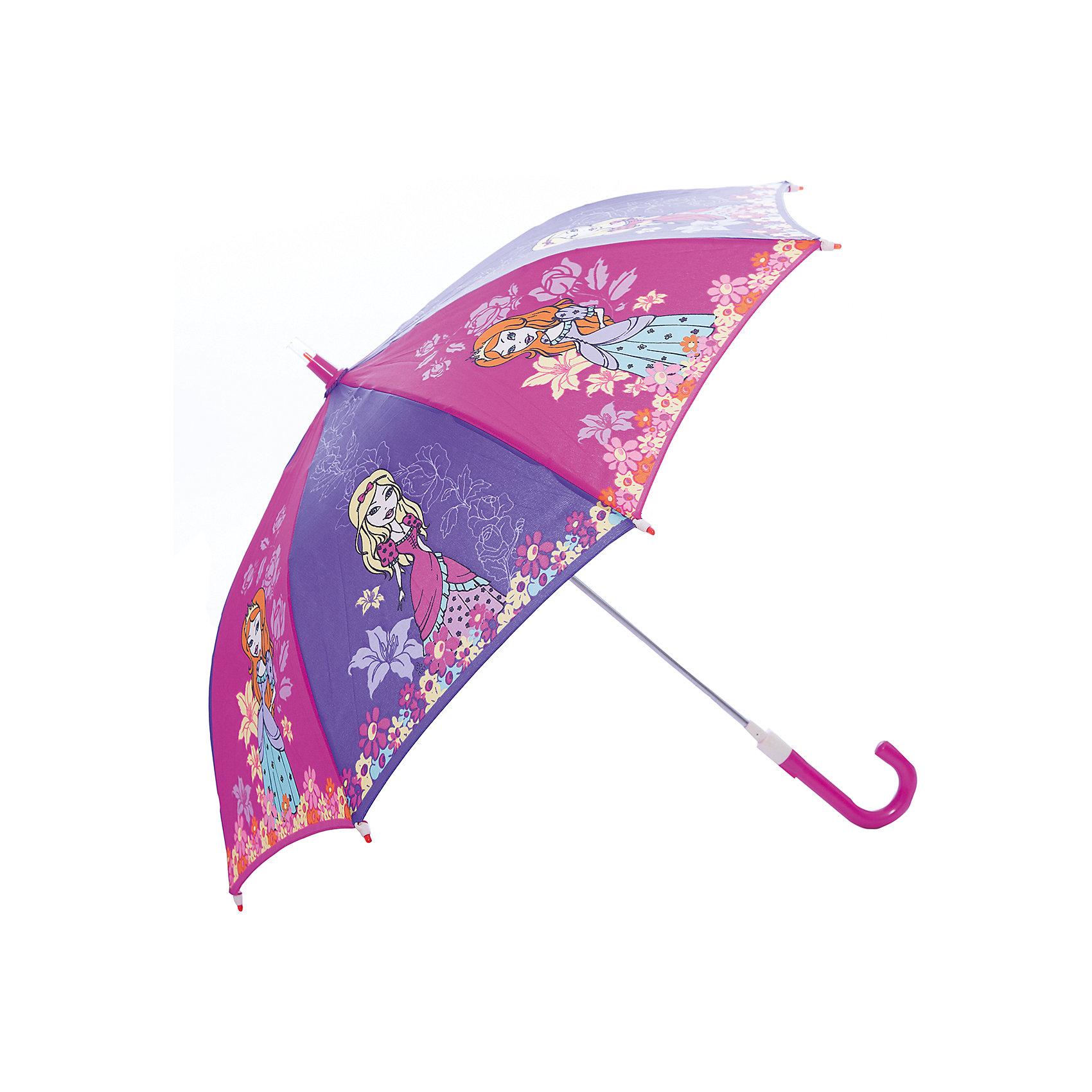 Зонт-трость, детский, рисунок ПринцессыЗонты детские<br>Красочный детский зонтик Zest 21551  со светодиодами (на кончиках спиц и на куполе в центре), трость, механика, 8 спиц, купол 78 см, материал купола полиэстер, ручка зонта из пластика, материал каркаса - сталь. Концы спиц зонтика прикрыты специальными колпачками-лампочками. ВЕТРОУСТОЙЧИВАЯ КОНСТРУКЦИЯ. Внимание! В сильный ветер не эксплуатировать! Зонт может сломаться. Гарантия 6 месяцев, срок службы 5 лет. Необходимы 2 батарейки типа ААА<br><br>Ширина мм: 680<br>Глубина мм: 0<br>Высота мм: 0<br>Вес г: 310<br>Возраст от месяцев: 36<br>Возраст до месяцев: 2147483647<br>Пол: Унисекс<br>Возраст: Детский<br>SKU: 5511988