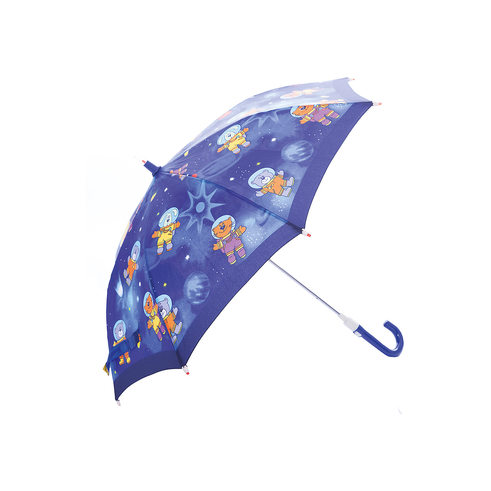 Зонт-трость, детский, рисунок Животные со светодиодамиЗонты детские<br>Красочный детский зонтик Zest со светодиодами (на кончиках спиц и на куполе в центре), трость, механика, 8 спиц, купол 78 см, материал купола полиэстер, ручка зонта из пластика, материал каркаса - сталь. Концы спиц зонтика прикрыты специальными колпачками-лампочками. ВЕТРОУСТОЙЧИВАЯ КОНСТРУКЦИЯ. Внимание! В сильный ветер не эксплуатировать! Зонт может сломаться. Гарантия 6 месяцев, срок службы 5 лет. Необходимы 2 батарейки типа ААА<br><br>Ширина мм: 680<br>Глубина мм: 0<br>Высота мм: 0<br>Вес г: 310<br>Возраст от месяцев: 36<br>Возраст до месяцев: 2147483647<br>Пол: Унисекс<br>Возраст: Детский<br>SKU: 5511989