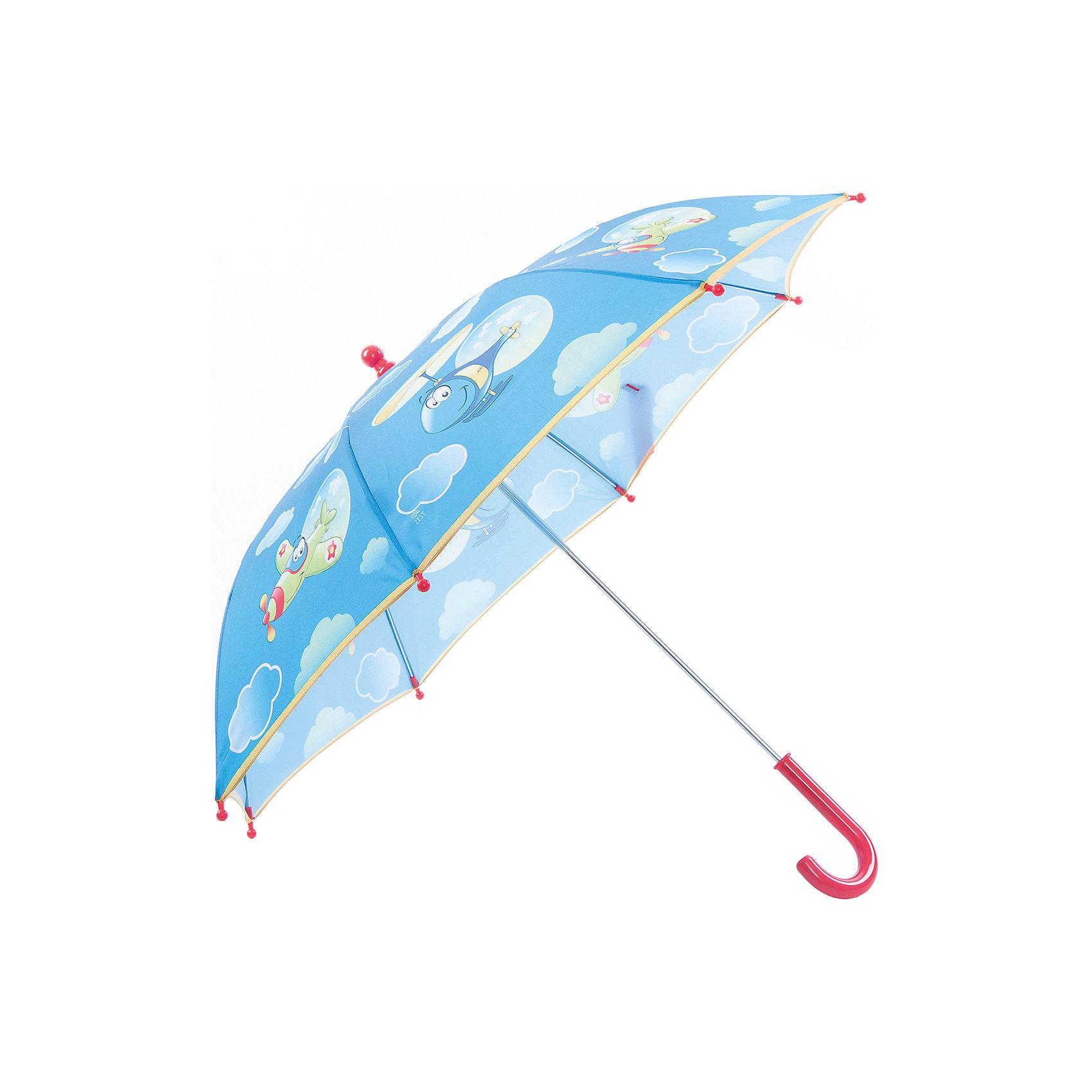 Зонт-трость, детскийКрасочный детский зонтик Zest 81561, трость, механика, 8 спиц, купол 72 см, материал купола полиэстер, ручка зонта из пластика, материал каркаса - сталь. Концы спиц зонтика прикрыты специальными колпачками. ВЕТРОУСТОЙЧИВАЯ КОНСТРУКЦИЯ. Внимание! В сильный ветер не эксплуатировать! Зонт может сломаться. Гарантия 6 месяцев, срок службы 5 лет.<br><br>Ширина мм: 570<br>Глубина мм: 0<br>Высота мм: 0<br>Вес г: 205<br>Возраст от месяцев: 36<br>Возраст до месяцев: 2147483647<br>Пол: Унисекс<br>Возраст: Детский<br>SKU: 5511996