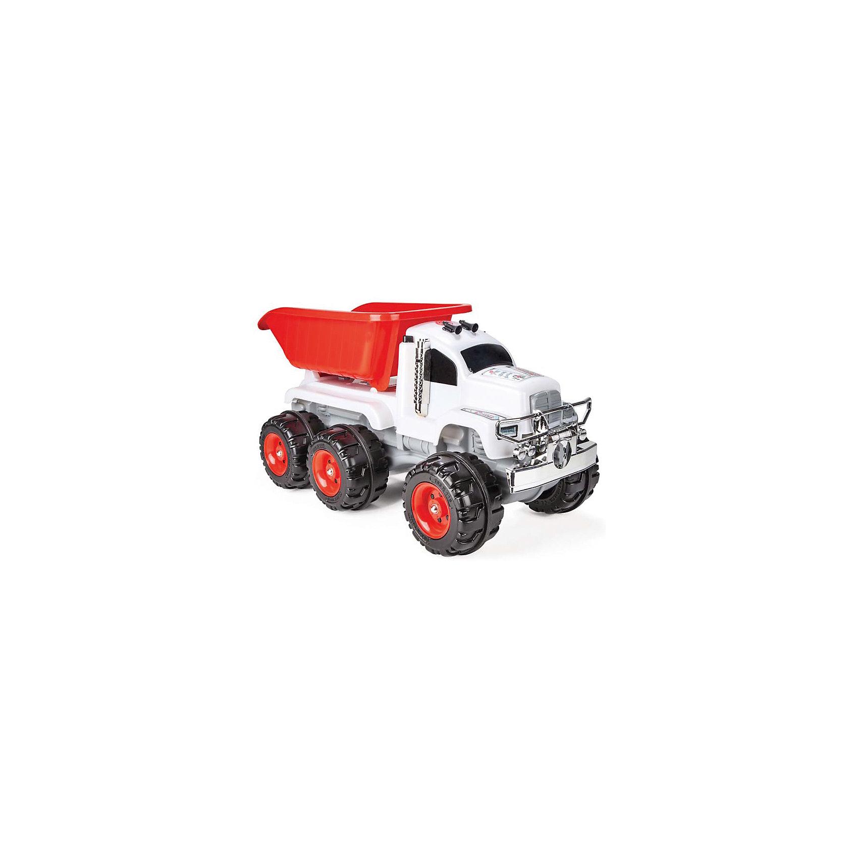 Машинка Самосвал большой CRAZY с сигналом, PILSANГрузовик с мелодиями и световыми эффектами для детей от 3 лет, подвижной кузов. <br>Максимальный вес: 5 кг.<br><br>Ширина мм: 440<br>Глубина мм: 920<br>Высота мм: 470<br>Вес г: 5800<br>Возраст от месяцев: 36<br>Возраст до месяцев: 96<br>Пол: Мужской<br>Возраст: Детский<br>SKU: 5512005