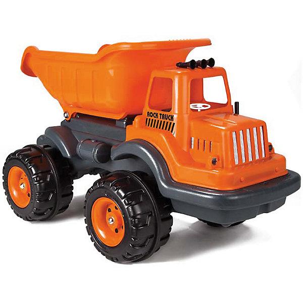 Машинка Самосвал большой ROCK DUMP с лопатками, PILSANИграем в песочнице<br>Характеристики товара:<br><br>• эргономичный дизайн<br>• большие прочные колеса<br>• вместительный кузов<br>• в комплекте: машинка, лопатки<br>• материал: пластик<br>• размер упаковки: 48х79х45 см<br>• вес: 4,4 кг<br>• возраст: от 3 лет<br><br>С самосвалом Pilsan игры в песочнице станут еще интереснее! <br><br>Машина оснащена вместительным кузовом и большими прочными колесами с протектором, которые легко проедут по асфальту, песку и камням. <br><br>В комплект входят лопатки, с помощью которых ребенок сможет загрузить песок или игрушки.<br><br>Игра способствует развитию моторики рук, координации движений и воображения.<br><br>Машинку Самосвал большой ROCK DUMP с лопатками, PILSAN (Пилсан) можно купить в нашем интернет-магазине.<br><br>Ширина мм: 450<br>Глубина мм: 790<br>Высота мм: 480<br>Вес г: 4400<br>Возраст от месяцев: 36<br>Возраст до месяцев: 96<br>Пол: Мужской<br>Возраст: Детский<br>SKU: 5512006
