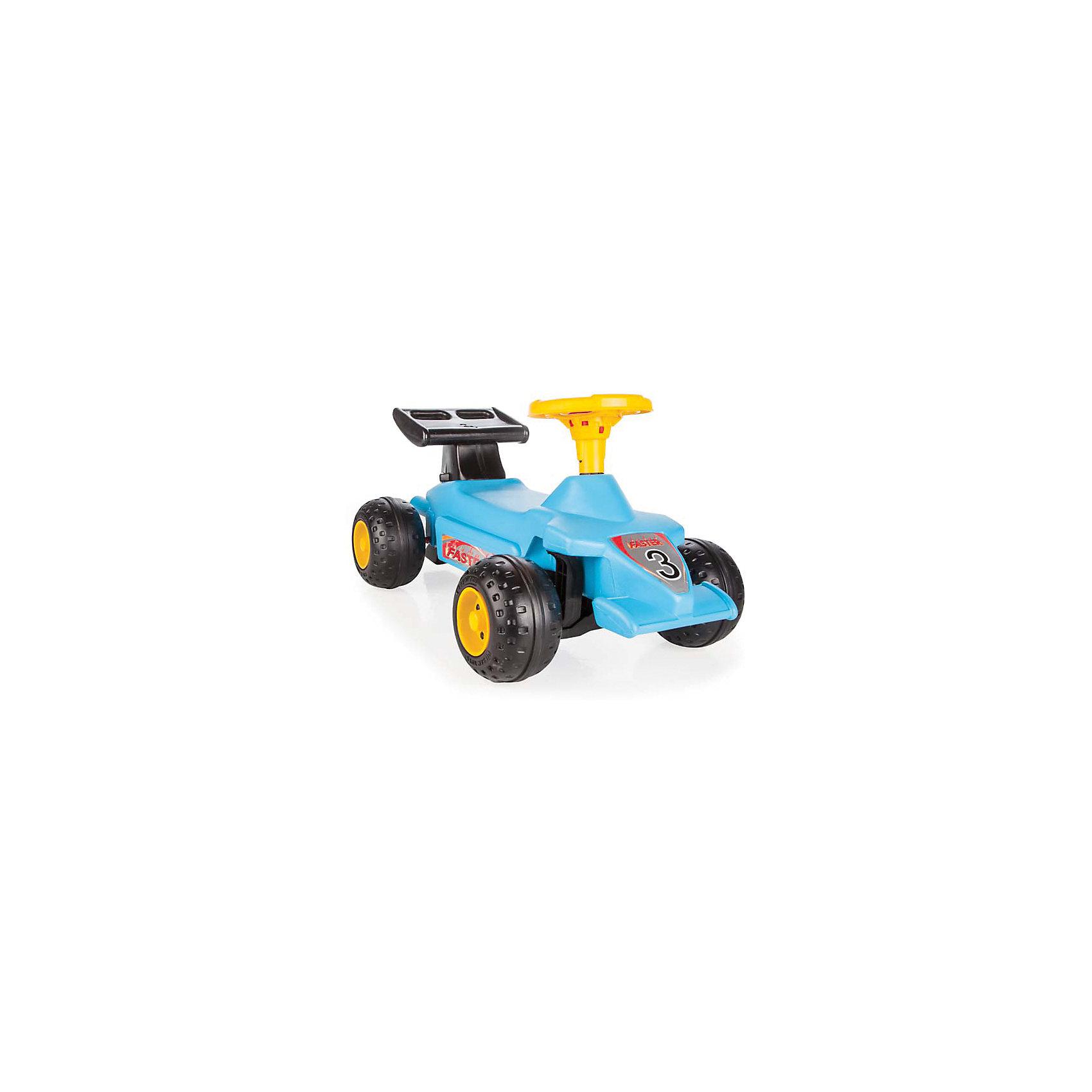 Каталка SUPER RACE, PILSANМашинки-каталки<br>Характеристики товара:<br><br>• удобное сиденье <br>• оснащена клаксоном<br>• устойчивые колеса<br>• развивает координацию и опорно-двигательный аппарат<br>• материал: пластик<br>• максимальная нагрузка: 50 кг<br>• размер упаковки: 39х77х45 см<br>• вес: 3,9 кг<br><br>Каталка SUPER RACE отлично подойдет детям от 2-х лет. <br><br>Отталкиваясь ногами, ребенок сможет быстро двигаться вперед, развивая опорно-двигательный аппарат и координацию. <br><br>Каталка оснащена клаксоном, который позволит малышу издать звонкий сигнал, оповещающий о передвижении. <br><br>Юный водитель будет в восторге от такого транспорта! <br><br>Каталку SUPER RACE, PILSAN (Пилсан) можно купить в нашем интернет-магазине.<br><br>Ширина мм: 450<br>Глубина мм: 770<br>Высота мм: 390<br>Вес г: 3900<br>Возраст от месяцев: 36<br>Возраст до месяцев: 84<br>Пол: Унисекс<br>Возраст: Детский<br>SKU: 5512044