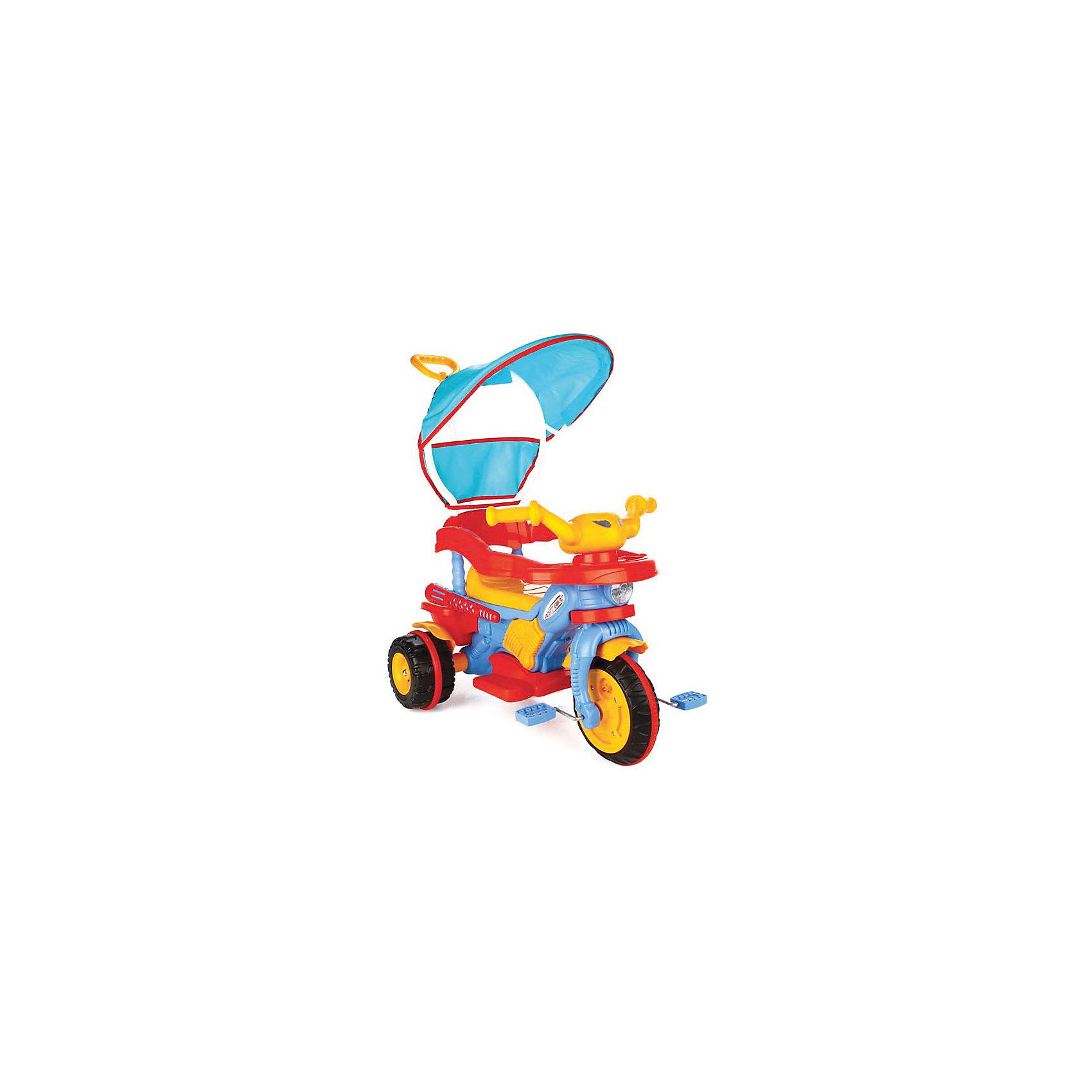 Велосипед BESTс ручкой управления в коробке, PILSANВелосипеды детские<br>Характеристики товара:<br><br>• возраст: от 3 лет<br>• эргономичная форма сиденья<br>• родительская ручка управления<br>• устойчивые колеса<br>• ограничители<br>• корзина для перевозки игрушек<br>• музыкальная панель<br>• защита от солнца<br>• максимальная нагрузка: 50 кг<br>• материал: пластик<br>• размер упаковки: 55х81х51 см<br>• вес: 7 кг<br><br>Велосипед BEST научит ребенка кататься и подарит много ярких эмоций! <br><br>Для комфорта ребенка предусмотрены удобные ручки, съемные ограничители для сиденья, корзина для игрушек и музыкальная панель, издающая 6 звуков. <br><br>Ограничители и устойчивые колеса обеспечивают высокий уровень безопасности. <br><br>Съемный зонт защитит ребенка от попадания прямых солнечных лучей.<br><br>Велосипед BEST с ручкой управления в коробке, PILSAN (Пилсан) вы можете купить в нашем интернет-магазине.<br><br>Ширина мм: 510<br>Глубина мм: 810<br>Высота мм: 550<br>Вес г: 7000<br>Возраст от месяцев: 36<br>Возраст до месяцев: 84<br>Пол: Унисекс<br>Возраст: Детский<br>SKU: 5512050