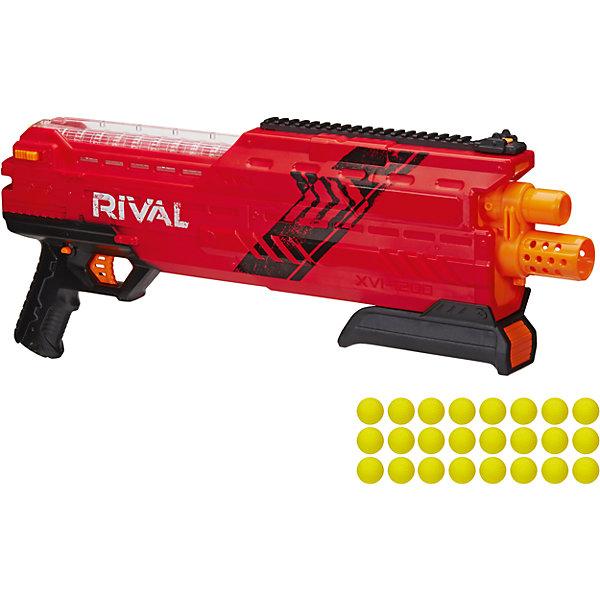 Бластер Райвал атлас, NERF, красныйИгрушечные пистолеты и бластеры<br>Бластер Райвал атлас, NERF (Нерф), красный<br><br>Характеристики:<br><br>• стреляет шариками (входят в комплект)<br>• обойма рассчитана на 12 шариков<br>• в комплекте: бластер, обойма, 24 шарика<br>• материал: пластик<br>• размер упаковки: 66х8,5х25,5 см<br>• вес: 1,6 кг<br>• цвет: красный<br><br>С бластером Райвал атлас можно устроить веселую перестрелку с друзьями! Бластер стреляет шариками. Одна обойма рассчитана на 12 шариков. К бластеру прилагаются 24 шарика. Прозрачный магазин позволит отследить количество патронов и вовремя пополнить боезапас. Бластер выполнен в современном дизайне, напоминающем короткоствольный дробовик. Выстреливает одновременно двумя патронами. С таким крутым бластером у противника не останется шансов на победу!<br><br>Бластер Райвал атлас, NERF (Нерф), красный можно купить в нашем интернет-магазине.<br><br>Ширина мм: 460<br>Глубина мм: 120<br>Высота мм: 220<br>Вес г: 1600<br>Возраст от месяцев: 168<br>Возраст до месяцев: 2147483647<br>Пол: Мужской<br>Возраст: Детский<br>SKU: 5512439
