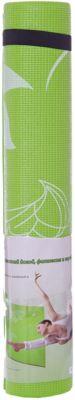 Коврик для йоги ВВ8300, Z-Sports, салатовый, артикул:5512948 - Спортивные коврики