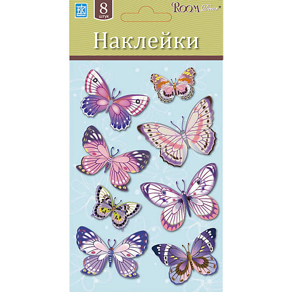 Бабочки мини LCHPA 05008, Room Decor, розовыйДетские предметы интерьера<br>Характеристики:<br><br>• Предназначение: декор комнаты, создание творческой зоны в детской комнате<br>• Серия: Насекомые<br>• Тематика наклеек: бабочки<br>• Материал: картон, ПВХ<br>• Комплектация: 8 бабочек разного размера<br>• Форма: 3d<br>• Декор наклеек: блестки<br>• Клейкая поверхность крепится на окрашенные стены, обои, двери, деревянные панели, стекло<br>• Не повреждают поверхность<br>• Устойчивы к выцветанию и истиранию<br>• Размеры (Д*Ш*В): 10*7*15 см<br>• Вес: 20 г<br>• Упаковка: блистер<br><br>Все наклейки выполнены из безопасного и нетоксичного материала – ПВХ. Прочная клеевая основа обеспечивает надежное прикрепление практически к любому виду горизонтальной или вертикальной поверхности, при этом не деформируя и не повреждая ее. Наклейки обладают влагоустойчивыми свойствами, поэтому они хорошо переносят влажную уборку. <br><br>Наклейку Бабочки мини LCHPA 05008, Room Decor, розовый можно купить в нашем интернет-магазине.<br>Ширина мм: 100; Глубина мм: 70; Высота мм: 150; Вес г: 20; Возраст от месяцев: 36; Возраст до месяцев: 168; Пол: Унисекс; Возраст: Детский; SKU: 5512955;