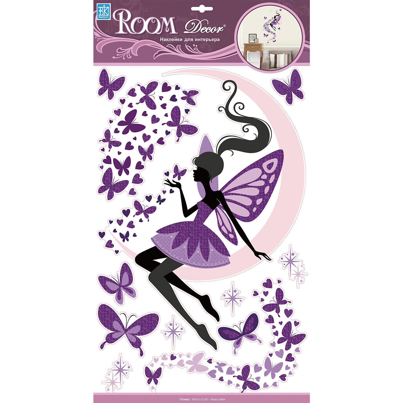 Наклейка Фея на луне RCA 9371, Room Decor от myToys