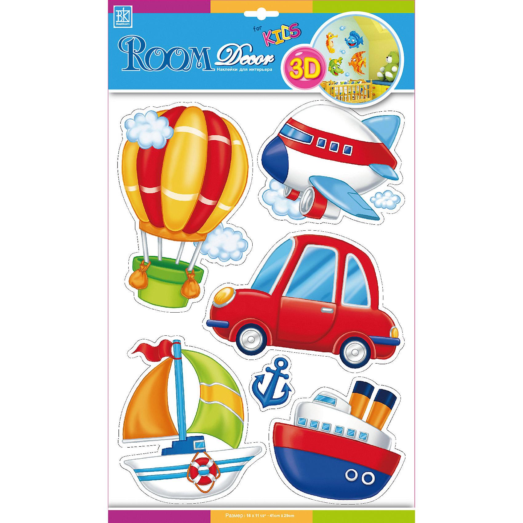 Наклейка Транспорт POA1008, Room Decor от myToys