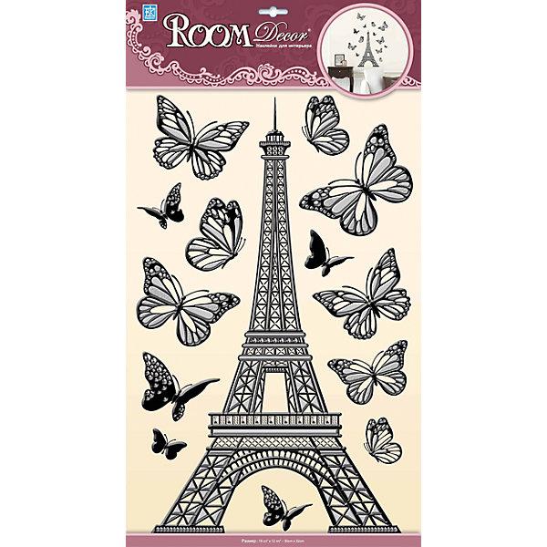 Наклейка Эйфелева башня объемная POA6875, Room Decor от myToys