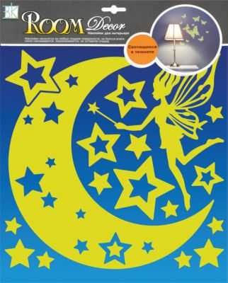 Наклейка Ночная фея RDA8303, Room Decor