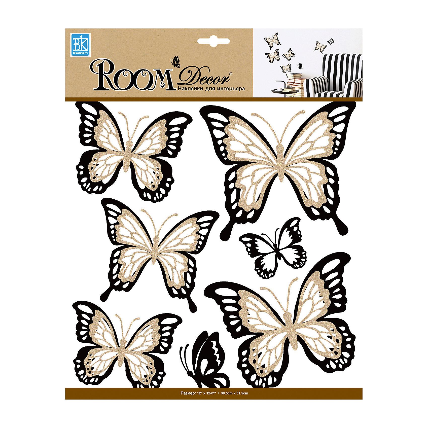 Наклейка Бабочки многослойные с блестками REA 5002, Room DecorПредметы интерьера<br>Характеристики:<br><br>• Предназначение: декор комнаты<br>• Тематика наклеек: бабочки<br>• Материал: картон, ПВХ<br>• Декоративные элементы: блестки<br>• Светящиеся в темноте<br>• Форма: многослойные<br>• Клейкая поверхность крепится на окрашенные стены, обои, двери, деревянные панели, стекло<br>• Не повреждают поверхность<br>• Устойчивы к выцветанию и истиранию<br>• Повышенные влагостойкие свойства<br>• Размеры (Д*Ш*В): 15*9,5*130 см<br>• Вес: 40 г<br>• Упаковка: блистер<br><br>Все наклейки выполнены из безопасного и нетоксичного материала – ПВХ. Прочная клеевая основа обеспечивает надежное прикрепление практически к любому виду горизонтальной или вертикальной поверхности, при этом не деформируя и не повреждая ее. Наклейки обладают влагоустойчивыми свойствами, поэтому они хорошо переносят влажную уборку. <br><br>Наклейка Бабочки многослойные с блестками REA 5002, Room Decor состоит из элементов с изображением блестящих бабочек. Наклейки выполнены в многослойном формате. <br><br>Наклейку Бабочки многослойные с блестками REA 5002, Room Decor можно купить в нашем интернет-магазине.<br><br>Ширина мм: 150<br>Глубина мм: 95<br>Высота мм: 1300<br>Вес г: 40<br>Возраст от месяцев: 36<br>Возраст до месяцев: 168<br>Пол: Женский<br>Возраст: Детский<br>SKU: 5513057
