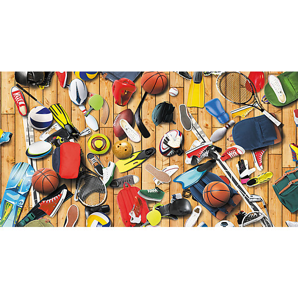 Фотообои Спортивный инвентарь (1,30*2,5), DECOCODEДетские предметы интерьера<br>Характеристики:<br><br>• Предназначение: декор комнаты<br>• Тематика: Арт<br>• Материал: флизелин, винил<br>• Фактура: песок<br>• Размер полотна (Ш*Д): 130*250 см <br>• Устойчивы к выцветанию и истиранию<br>• Допускается влажная чистка<br>• Размеры (Д*Ш*В): 15*9,5*130 см<br>• Вес: 1 кг 80 г<br><br>Обои изготовлены на флизелиновой основе с имитацией поверхности из песка, за счет чего им придается повышенная устойчивость к повреждениям и насыщенность цвета. Все материалы, использованные в производстве, соответствуют международным стандартам безопасности.<br><br>Фотообои Спортивный инвентарь (1,30*2,5), DECOCODE выполнены на флизелиновой основе с виниловой поверхностью, благодаря чему при высыхании клея они не дают усадки и не собираются. На панно в ярких насыщенных красках изображен спортивный инвентарь. Общий размер декоративного полотна составляет 2*2,8 м. <br><br>Фотообои Спортивный инвентарь (1,30*2,5), DECOCODE можно купить в нашем интернет-магазине.<br>Ширина мм: 150; Глубина мм: 95; Высота мм: 1300; Вес г: 1080; Возраст от месяцев: 0; Возраст до месяцев: 1188; Пол: Мужской; Возраст: Детский; SKU: 5513065;