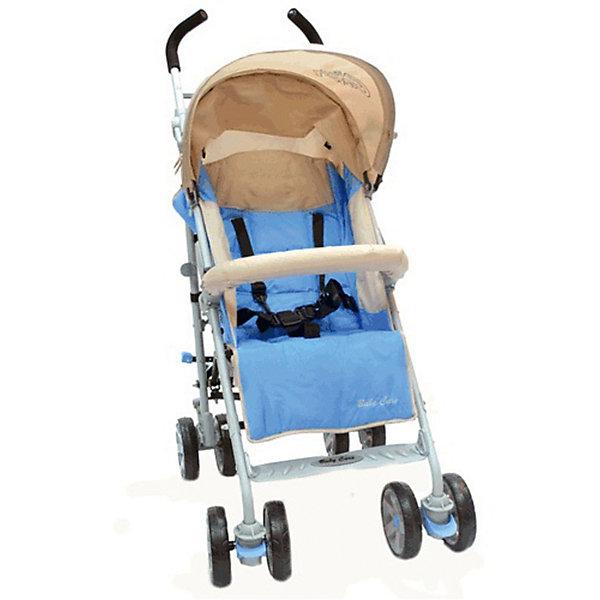 Коляска-трость Baby Care Polo 107, светло-голубойНедорогие коляски<br>Характеристики коляски-трости:<br><br>• спинка раскладывается почти до горизонтального положения, угол наклона 170 градусов;<br>• регулируемая подножка;<br>• 5-ти точечные ремни безопасности;<br>• съемный бампер с мягкой накладкой;<br>• капюшон опускается до бампера;<br>• чехол на ножки защищает ребенка в холодное время года;<br>• дождевик защищает от осадков;<br>• сдвоенные колеса из плотной резины;<br>• передние плавающие колеса с возможностью фиксации;<br>• стояночный тормоз на задней оси;<br>• механизм складывания: трость;<br>• материал рамы: алюминий. <br><br>Размер коляски: 51х80х107 см<br>Диаметр колес:15 см<br>Ширина колесной базы:51 см <br>Вес коляски: 8,5 кг <br>Длина спального места: 80 см<br>Ширина сиденья: 33 см<br>Высота спинки: 52 см <br>Высота до ручки: 107 см<br><br>Коляска Baby Care Polo подходит для городских прогулок и для выездов на природу. Хороший вариант «походной» коляски. В сложенном виде не занимает много места в транспорте. Коляска достаточно проходима, чтобы ездить и по асфальту, и по траве. Кроме этого, весь прочий функционал тростей доступен и в этой модели. Спинка раскладывается до лежачего положения, подножка регулируется по высоте, а капюшон может опускаться до бампера.<br><br>Коляску-трость Polo 107, Baby Care, цвет светло-голубой можно купить в нашем интернет-магазине.<br>Ширина мм: 1080; Глубина мм: 300; Высота мм: 200; Вес г: 9800; Возраст от месяцев: 6; Возраст до месяцев: 48; Пол: Унисекс; Возраст: Детский; SKU: 5513642;