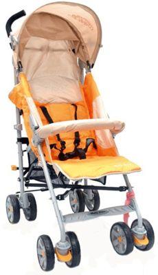 Коляска-трость Baby Care Polo 107, светло-оранжевый