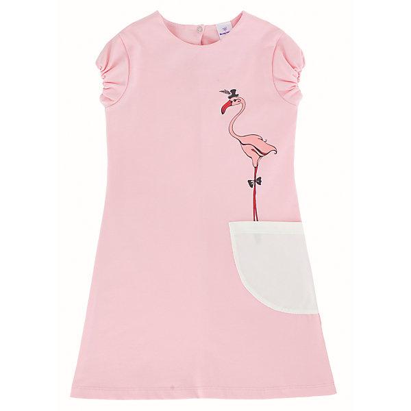 Платье для девочки МамуляндияПлатья и сарафаны<br>Платье для девочки Мамуляндия<br>Платье для девочки из дизайнерской коллекции Алиса.<br>Модель с накладным карманом и коротким рукавом, изготовлена трикотажного полотна высшего качества (кулирка).<br>Гипоаллергенный принт на водной основе, застёжка на спинке на кнопку из гипоаллергенного сплава без содержания никеля. <br><br>Состав 100% хлопок (кулирка-пенье). <br>Рекомендации по уходу: стирать при 40 С, гладить при средней температуре, носить с удовольствием!<br>Состав:<br>100% хлопок<br>Ширина мм: 236; Глубина мм: 16; Высота мм: 184; Вес г: 177; Цвет: розовый; Возраст от месяцев: 24; Возраст до месяцев: 36; Пол: Женский; Возраст: Детский; Размер: 98,92,122,110,104,116; SKU: 5513845;