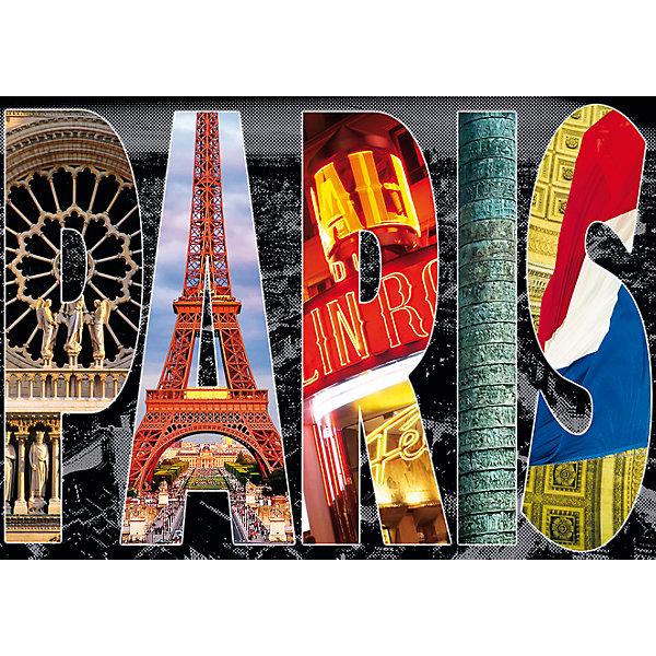 Купить Пазл Париж, коллаж , 1000 деталей, Educa, Испания, Унисекс