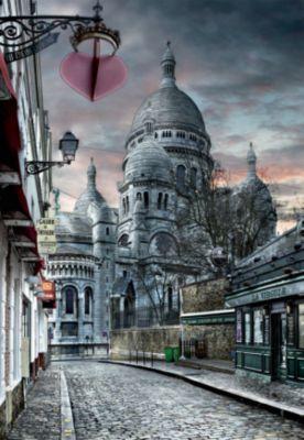 Пазл Монмартр, Париж HDR , 1000 деталей, Educa