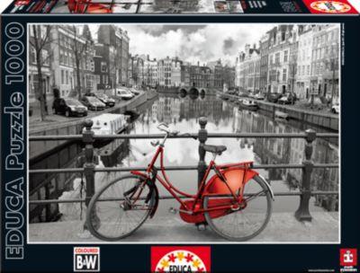 Пазл Амстердам , 1000 деталей, Educa