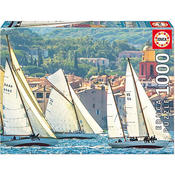 Купить Пазл Регата в Сен-Тропе , 1000 деталей, Educa, Испания, Унисекс