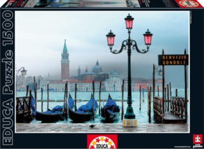Пазл Венеция в сумерках , 1500 деталей, Educa