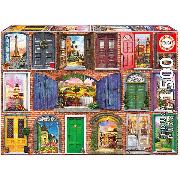 Пазл Двери Европы, 1500 деталей, EducaПазлы классические<br>Характеристики товара:<br><br>• возраст: от 6 лет;<br>• количество деталей: 1500;<br>• размер собранной картины: 85х60 см.;<br>• наличие клея: в комплекте;<br>• материал: картон;<br>• упаковка: картонная каробка;<br>• вес: 1,1 кг.;<br>• бренд, страна бренда: Educa (Эдука), Испания;<br>• страна-производитель: Испания.<br>                                                                                                                                                                                                                                                                                                                       <br>Пазл «Двери Европы», состоящий из 1500 элементов, придется по душе всей вашей семье, ведь собрав этот пазл, вы получите великолепную картину, которая отлично впишется в интерьер любого помещения.<br><br>Пазл выполнен из высококачественных материалов, что обеспечивает идеальное прилегание элементов друг к другу. В комплекте специальный сухой клей, чтобы после сборки склеить части мозайки и сохранить прочность собранной картины на долгое время.<br><br>Собирание пазлов это не только интересно, но и полезно: ведь в процессе создания картинки развивается мелкая моторика, тренируются наблюдательность и логическое мышление.<br><br>Испанская компания Educa Borras, SA выпускает пазлы различной сложности и имеет уникальный сервис: бесплатную доставку в любую точку мира потерянной детали.<br><br>Пазл «Двери Европы», 1500 деталей,  Educa (Эдука) можно купить в нашем интернет-магазине.<br><br>Ширина мм: 430<br>Глубина мм: 300<br>Высота мм: 55<br>Вес г: 1164<br>Возраст от месяцев: 60<br>Возраст до месяцев: 2147483647<br>Пол: Унисекс<br>Возраст: Детский<br>SKU: 5514286
