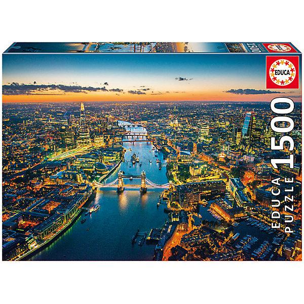 Пазл Лондон с высоты птичьего полета, 1500 деталей, EducaПазлы классические<br>Характеристики товара:<br><br>• возраст: от 6 лет;<br>• количество деталей: 1500;<br>• размер собранной картины: 85х60 см.;<br>• наличие клея: в комплекте;<br>• материал: картон;<br>• упаковка: картонная каробка;<br>• вес: 1,1 кг.;<br>• бренд, страна бренда: Educa (Эдука), Испания;<br>• страна-производитель: Испания.<br>                                                                                                                                                                                                                                                                                                                       <br>Пазл «Лондон с высота птичьего полета», состоящий из 1500 элементов, придется по душе всей вашей семье, ведь собрав этот пазл, вы получите великолепную картину, которая отлично впишется в интерьер любого помещения.<br><br>Пазл выполнен из высококачественных материалов, что обеспечивает идеальное прилегание элементов друг к другу. В комплекте специальный сухой клей, чтобы после сборки склеить части мозайки и сохранить прочность собранной картины на долгое время.<br><br>Собирание пазлов это не только интересно, но и полезно: ведь в процессе создания картинки развивается мелкая моторика, тренируются наблюдательность и логическое мышление.<br><br>Испанская компания Educa Borras, SA выпускает пазлы различной сложности и имеет уникальный сервис: бесплатную доставку в любую точку мира потерянной детали.<br><br>Пазл «Лондон с высоты птичьего полета», 1500 деталей,  Educa (Эдука) можно купить в нашем интернет-магазине.<br><br>Ширина мм: 430<br>Глубина мм: 300<br>Высота мм: 55<br>Вес г: 1164<br>Возраст от месяцев: 60<br>Возраст до месяцев: 2147483647<br>Пол: Унисекс<br>Возраст: Детский<br>SKU: 5514291