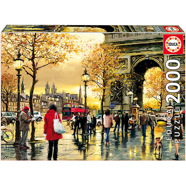Пазл Триумфальная арка, 2000 деталей, EducaПазлы классические<br>Характеристики товара:<br><br>• возраст: от 6 лет;<br>• количество деталей: 2000;<br>• размер собранной картины: 96х68 см.;<br>• наличие клея: нет в комплекте;<br>• материал: картон;<br>• упаковка: картонная каробка;<br>• вес: 1,3 кг.;<br>• бренд, страна бренда: Educa (Эдука), Испания;<br>• страна-производитель: Испания.<br>                                                                                                                                                                                                                                                                                                                       <br>Пазл «Триумфальная арка», состоящий из 2000 элементов, придется по душе всей вашей семье, ведь собрав этот пазл, вы получите великолепную картину, которая отлично впишется в интерьер любого помещения.<br><br>Пазл выполнен из высококачественных материалов, что обеспечивает идеальное прилегание элементов друг к другу. <br><br>Собирание пазлов это не только интересно, но и полезно: ведь в процессе создания картинки развивается мелкая моторика, тренируются наблюдательность и логическое мышление.<br><br>Испанская компания Educa Borras, SA выпускает пазлы различной сложности и имеет уникальный сервис: бесплатную доставку в любую точку мира потерянной детали.<br><br>Пазл «Триумфальная арка», 2000 деталей,  Educa (Эдука) можно купить в нашем интернет-магазине.<br><br>Ширина мм: 430<br>Глубина мм: 300<br>Высота мм: 55<br>Вес г: 1378<br>Возраст от месяцев: 60<br>Возраст до месяцев: 2147483647<br>Пол: Унисекс<br>Возраст: Детский<br>SKU: 5514294